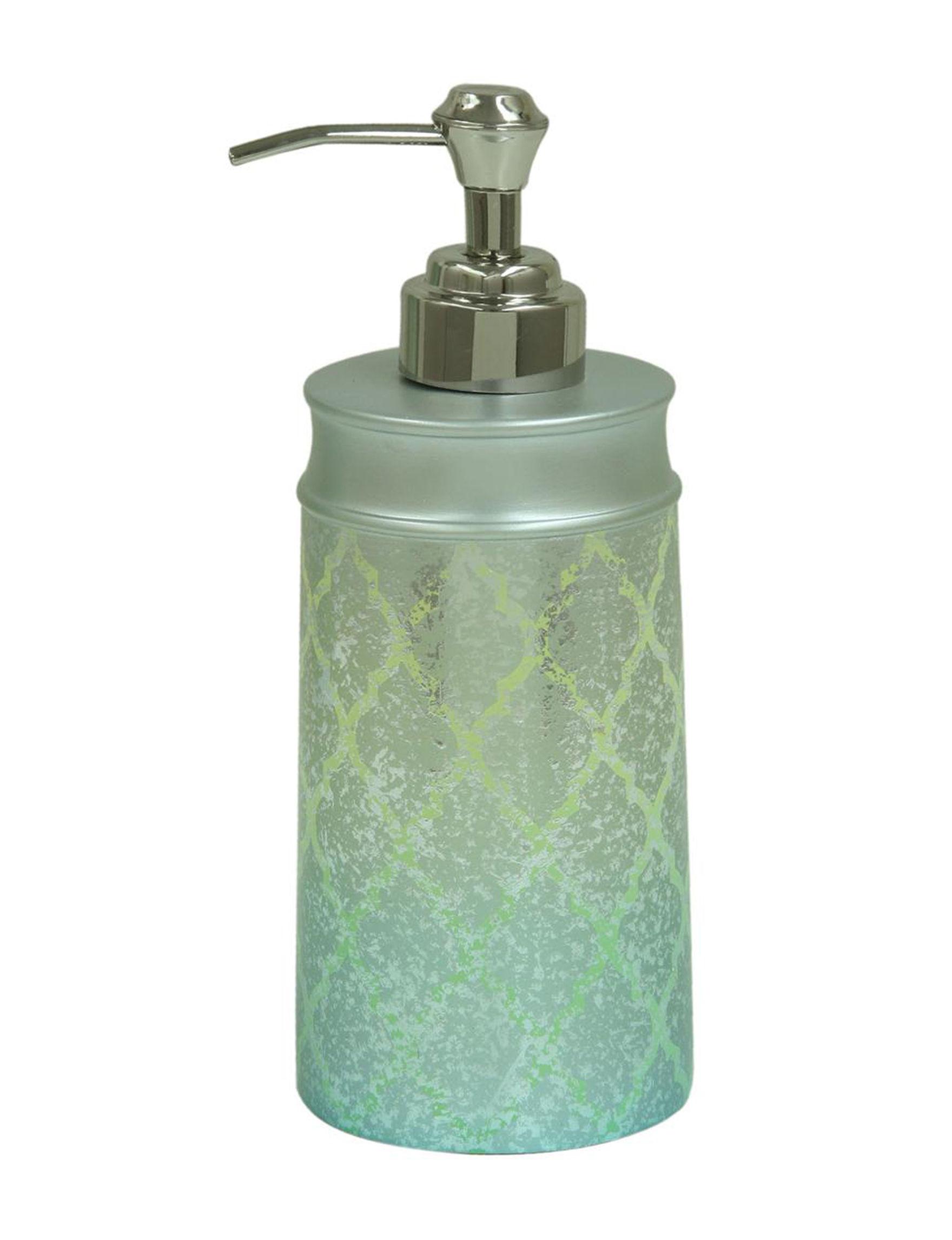 Bacova Guild Blue Soap & Lotion Dispensers Bath Accessories