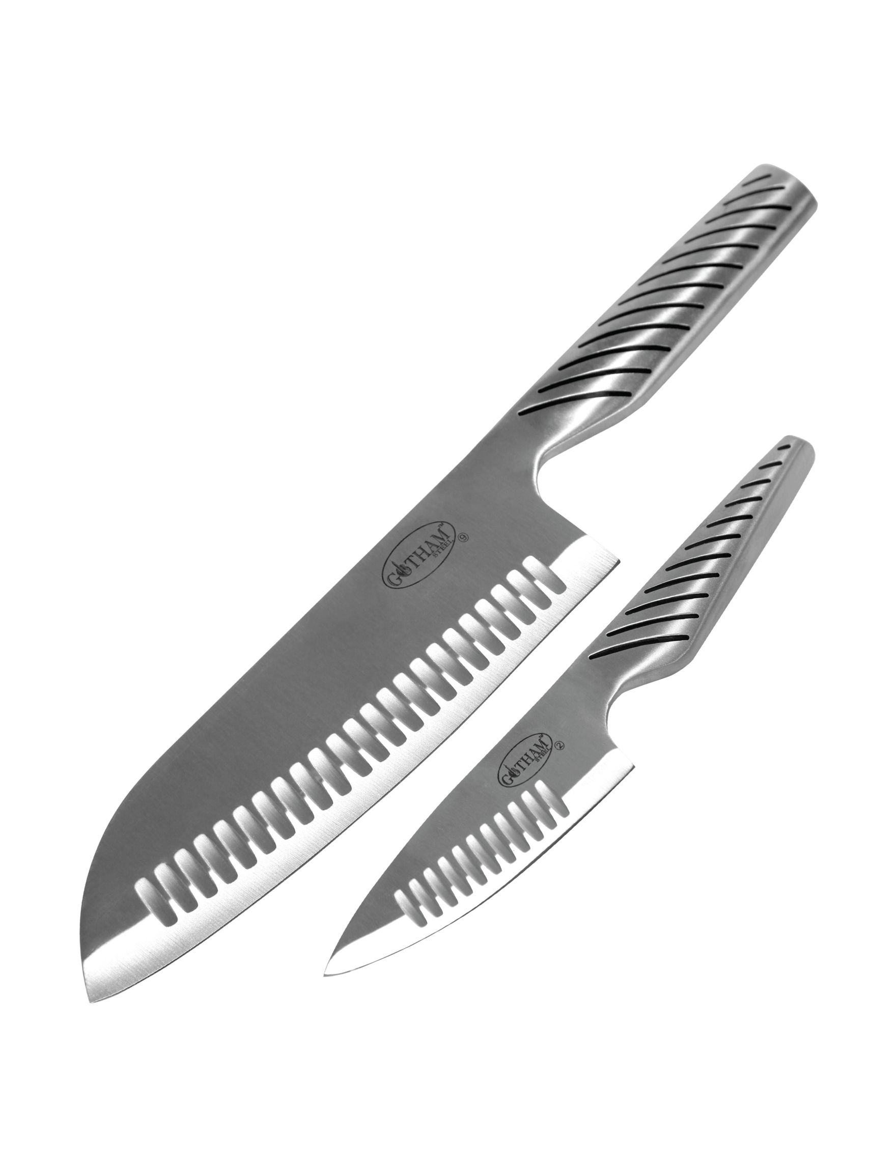 Gotham Steel Silver Knives & Cutlery