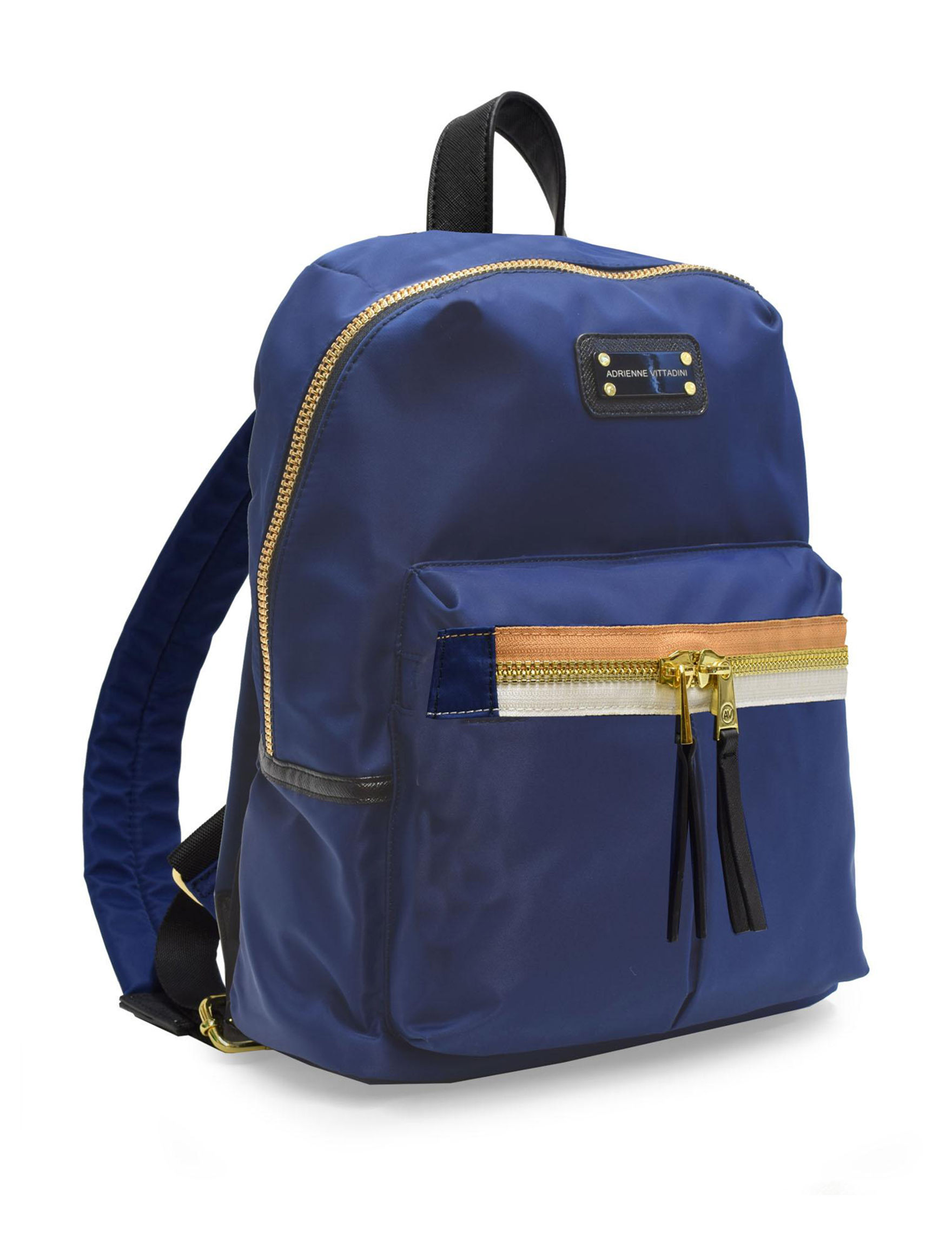 Adrienne Vittadini Navy Bookbags & Backpacks