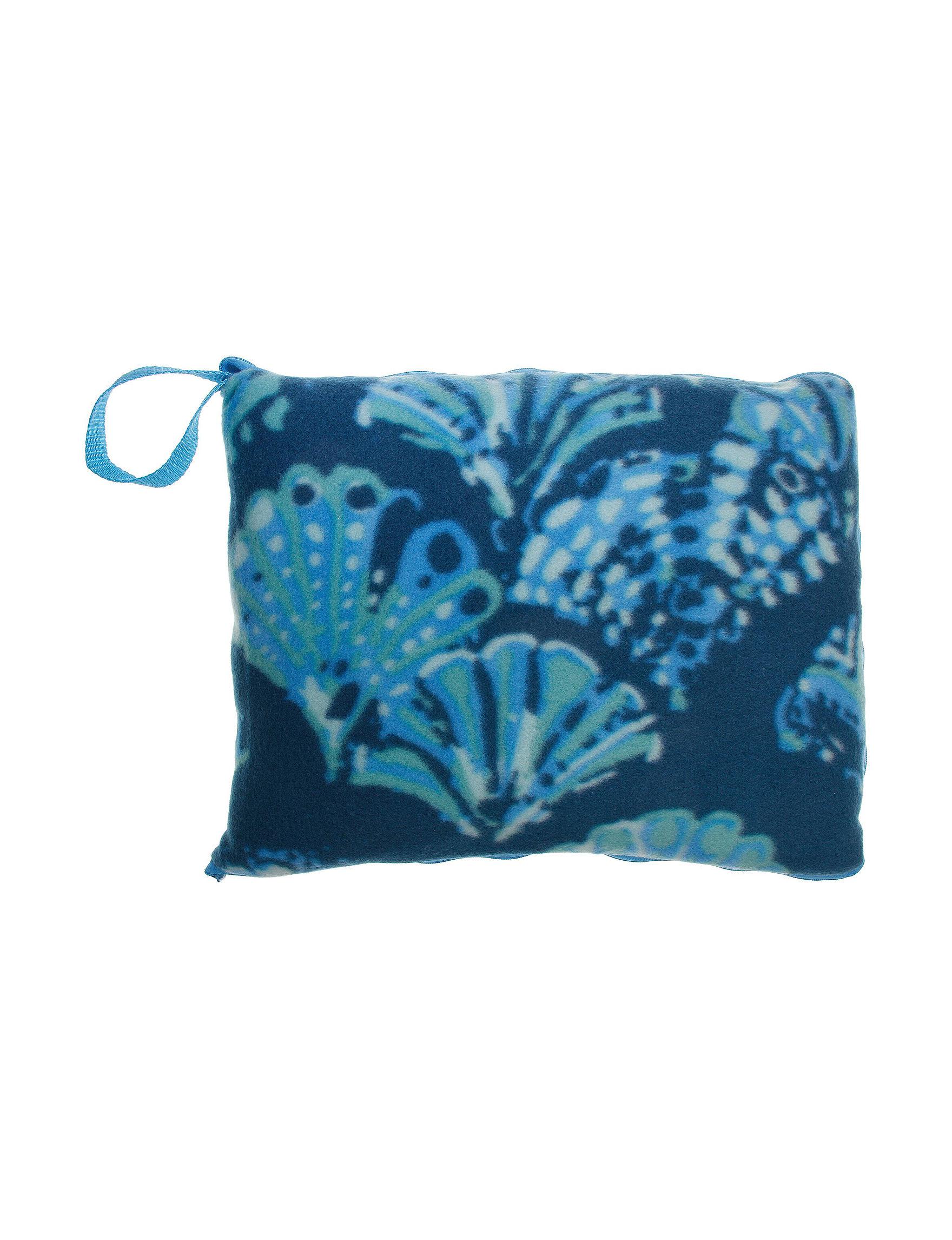 Uncas Blue Accessories Blankets & Throws Travel Accessories