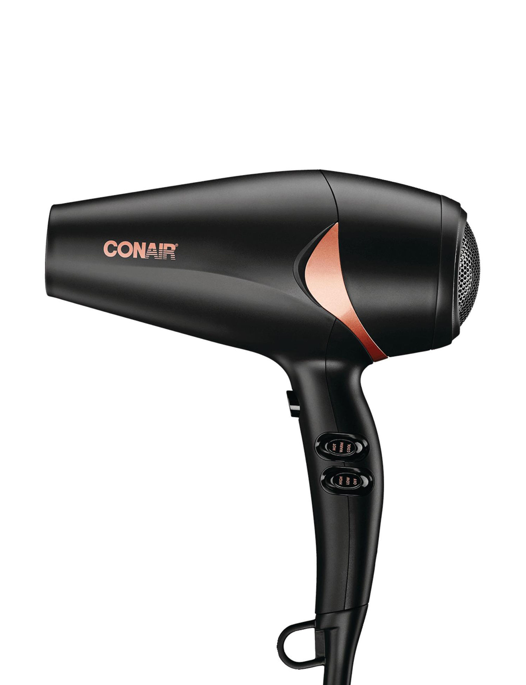 Conair Black Hairstyling Tools Tools & Brushes Bath Accessories