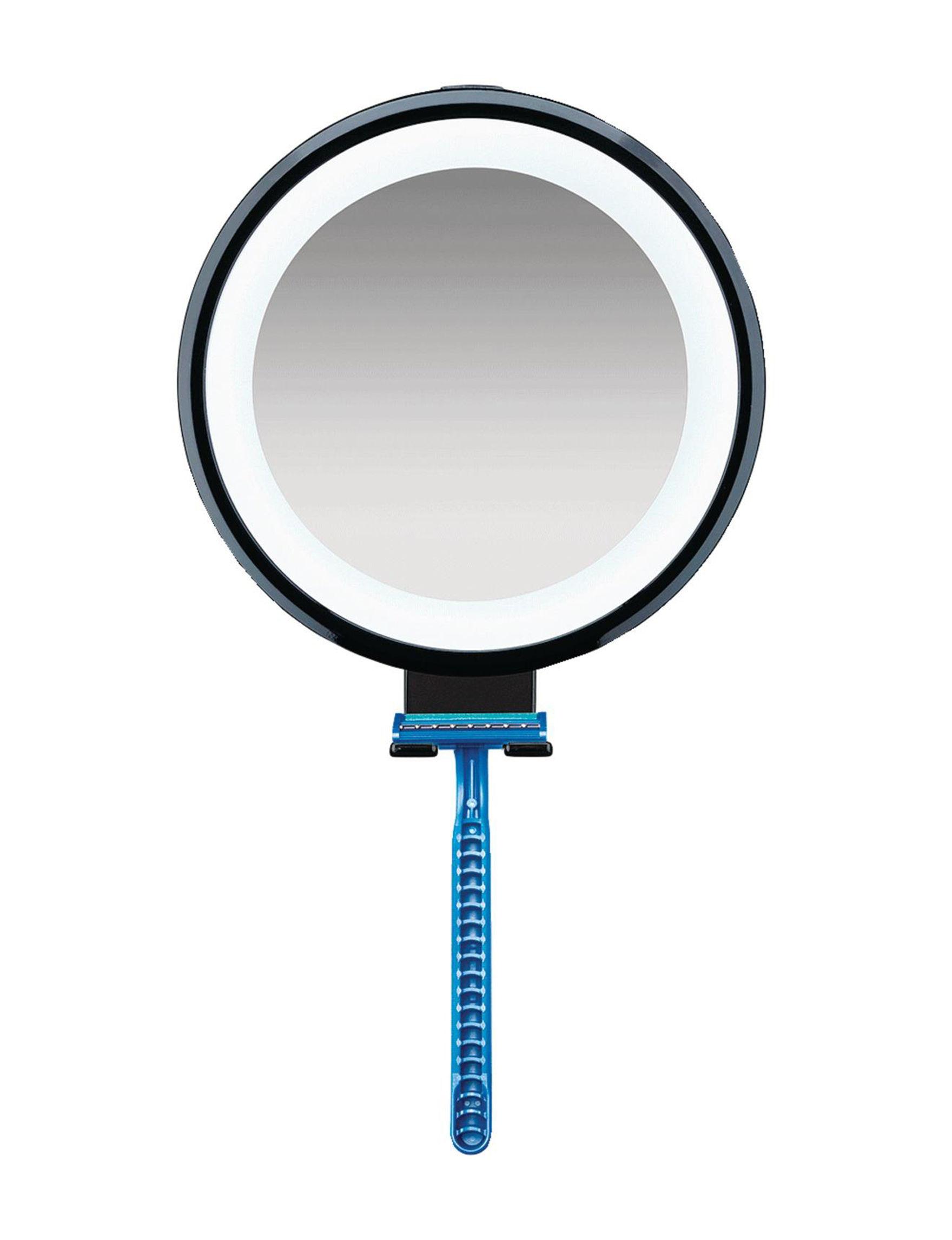 Conair Blue / Black Tools & Brushes Vanity Mirrors Bath Accessories