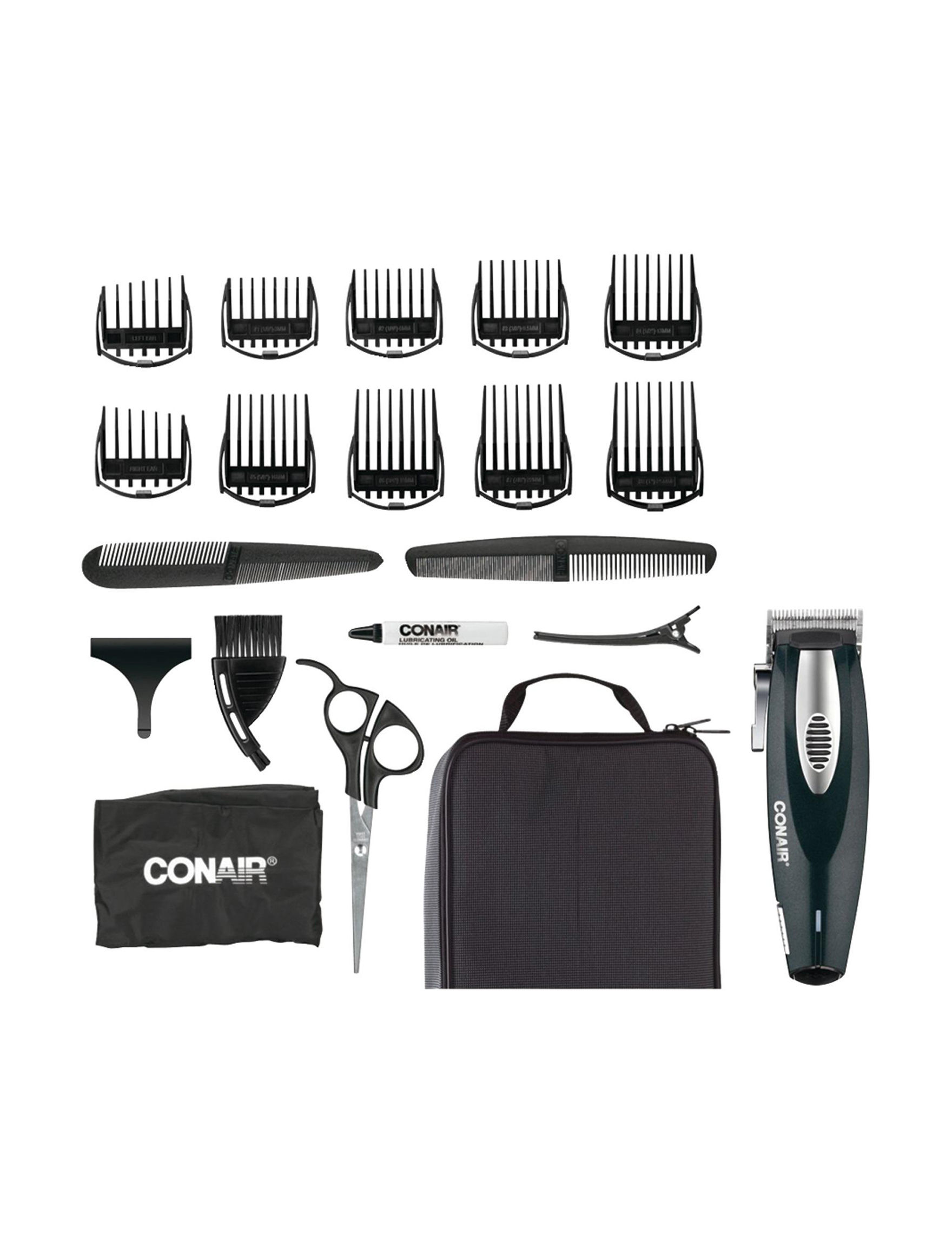 Conair Black Hairstyling Products Hairstyling Tools Tools & Brushes Bath Accessory Sets Bath Accessories