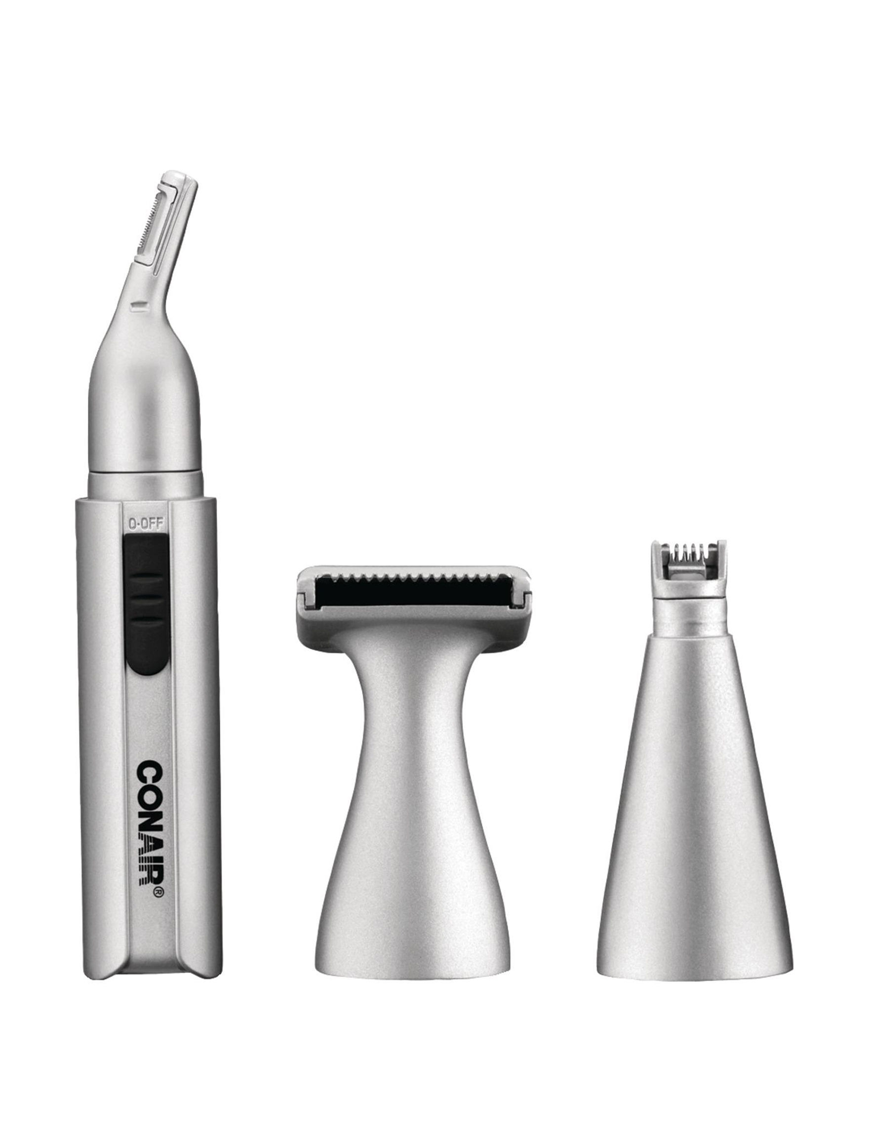 Conair Silver Hairstyling Products Hairstyling Tools Tools & Brushes Bath Accessories