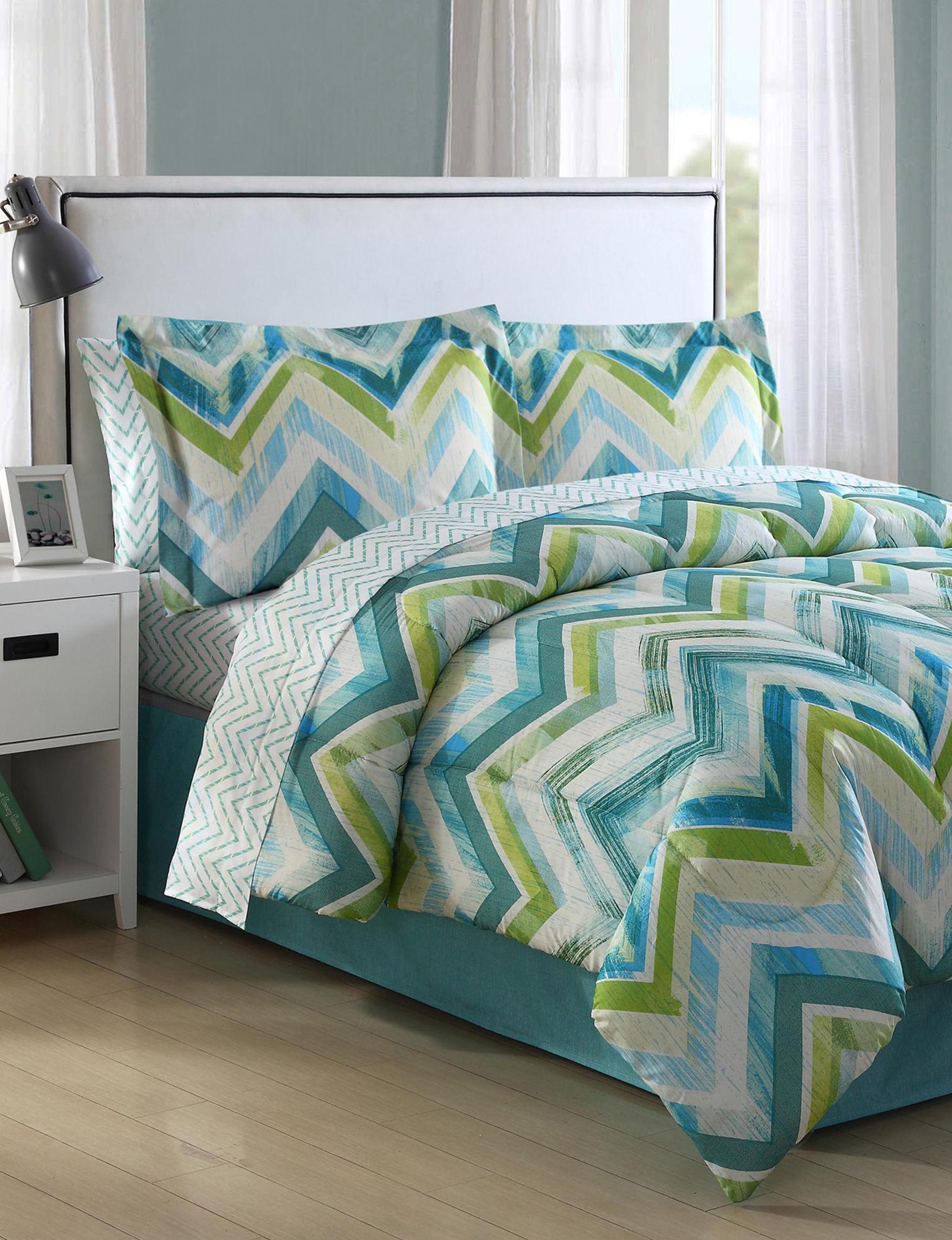 Ellison Blue Comforters & Comforter Sets