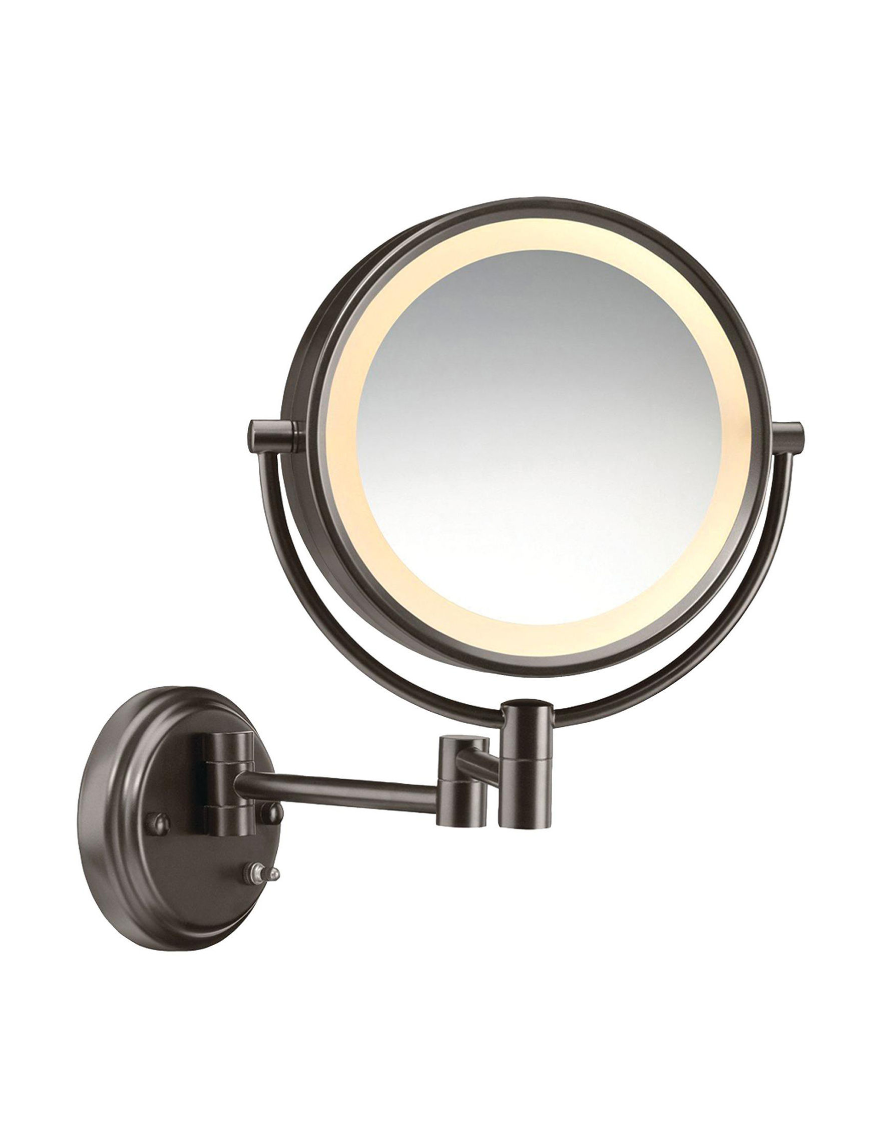 Conair Bronze Vanity Mirrors Bath Accessories