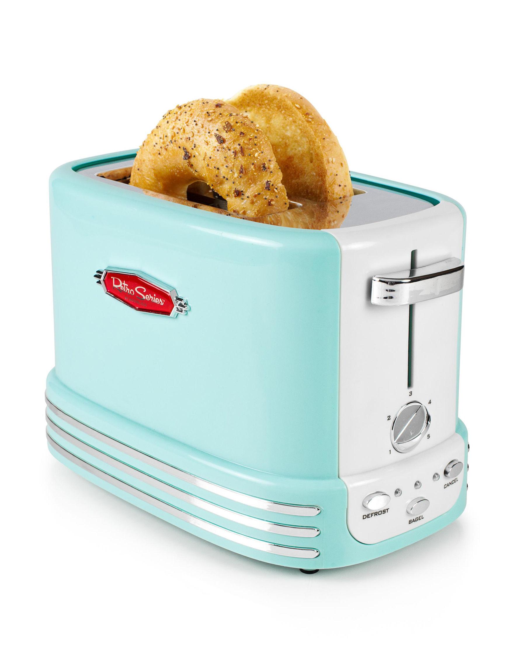 Nostalgia Electrics Aqua Toasters & Toaster Ovens Kitchen Appliances