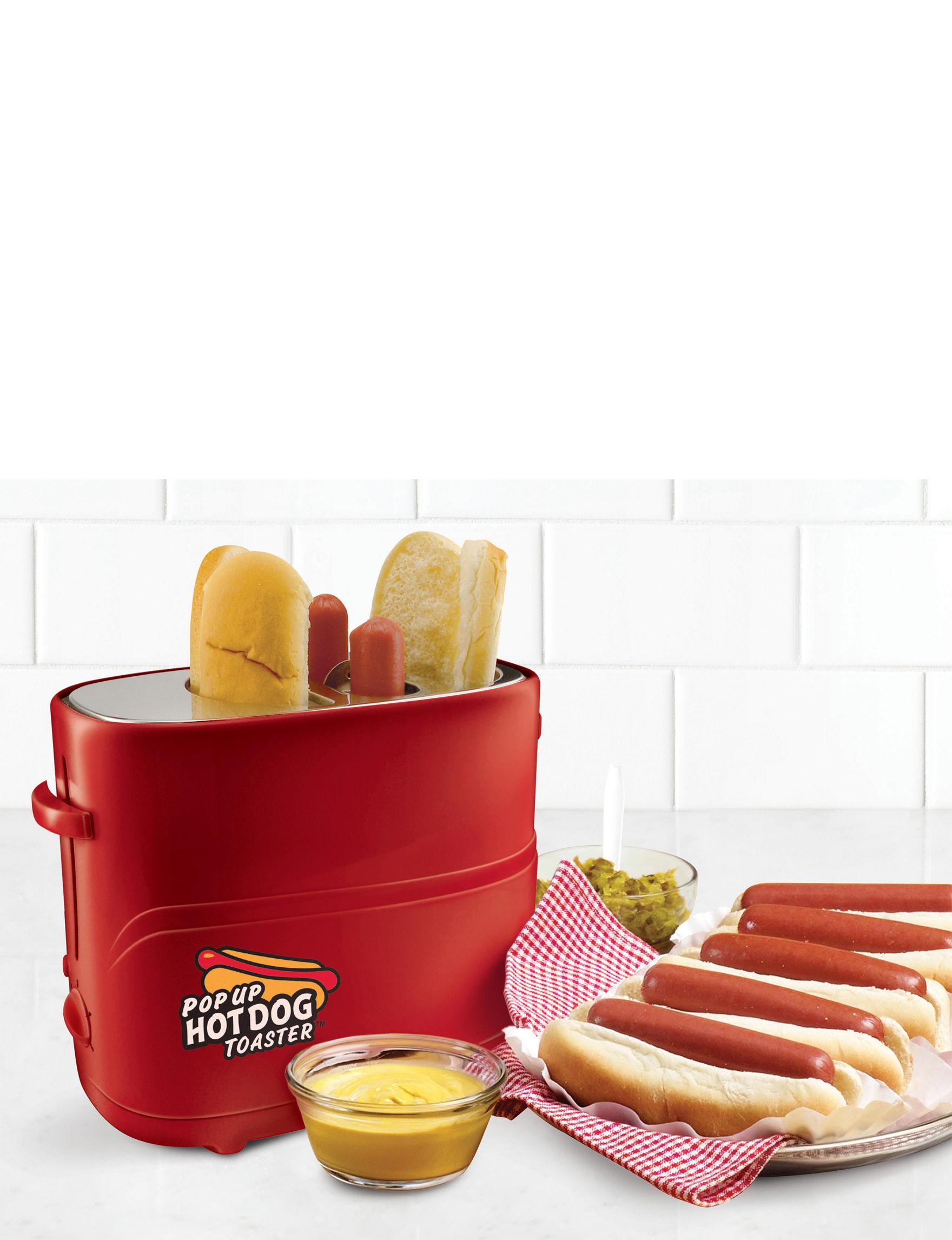 Nostalgia Electrics Red Toasters & Toaster Ovens Kitchen Appliances