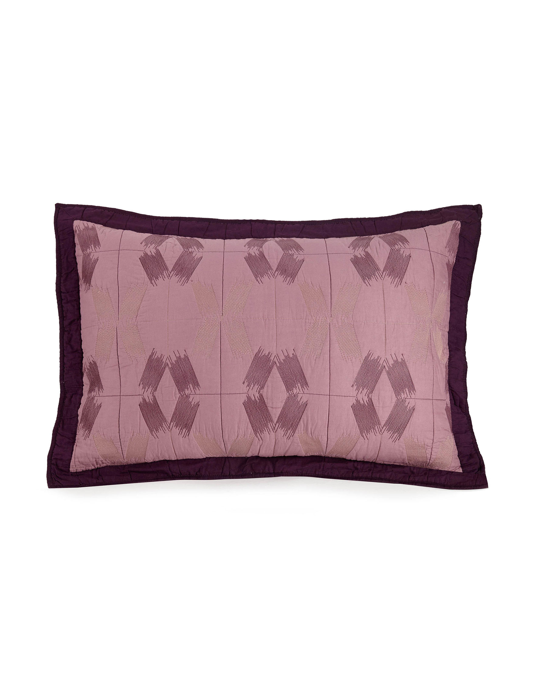 Presidio Square Lilac Pillow Shams