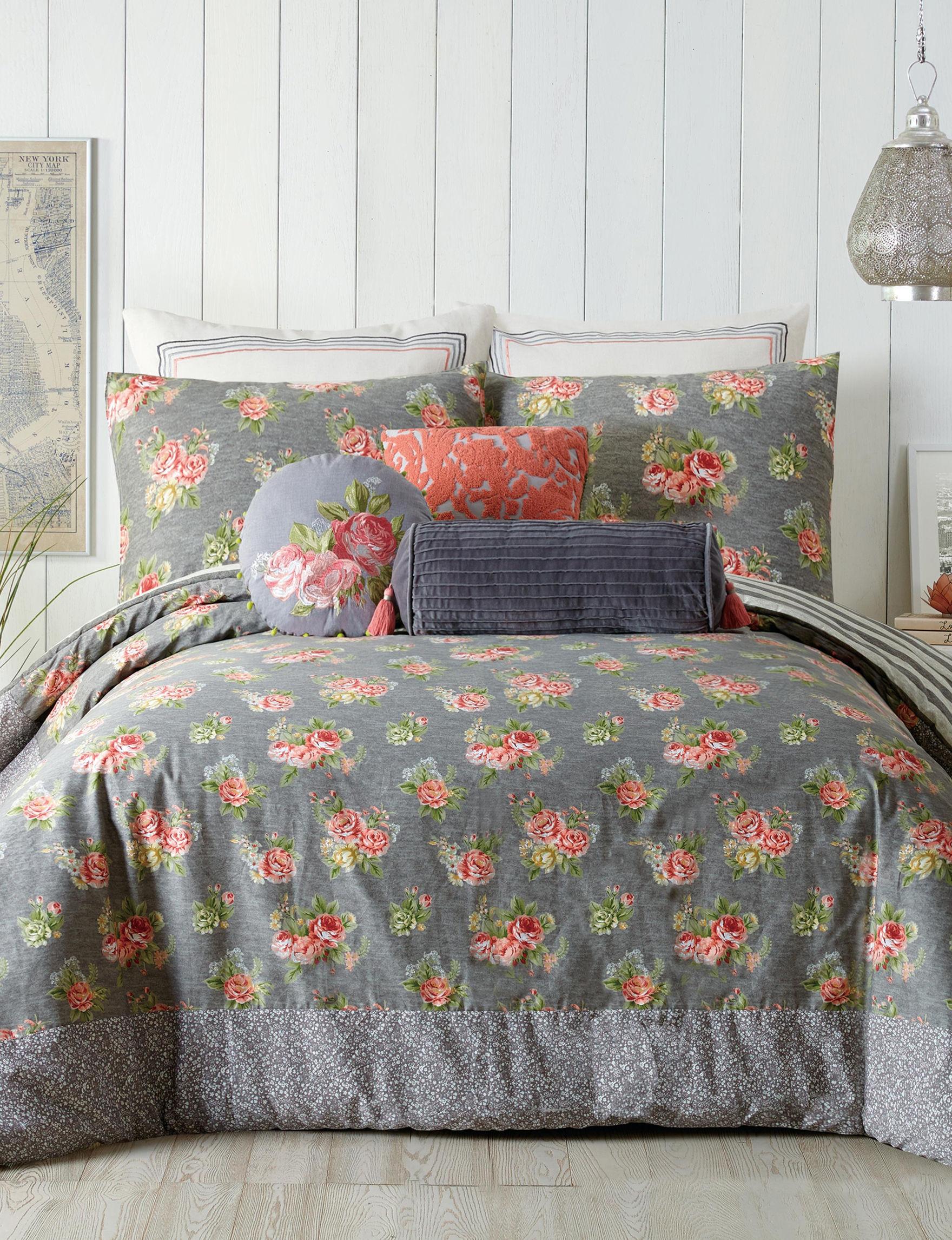 Jessica Simpson Charcoal Comforters & Comforter Sets