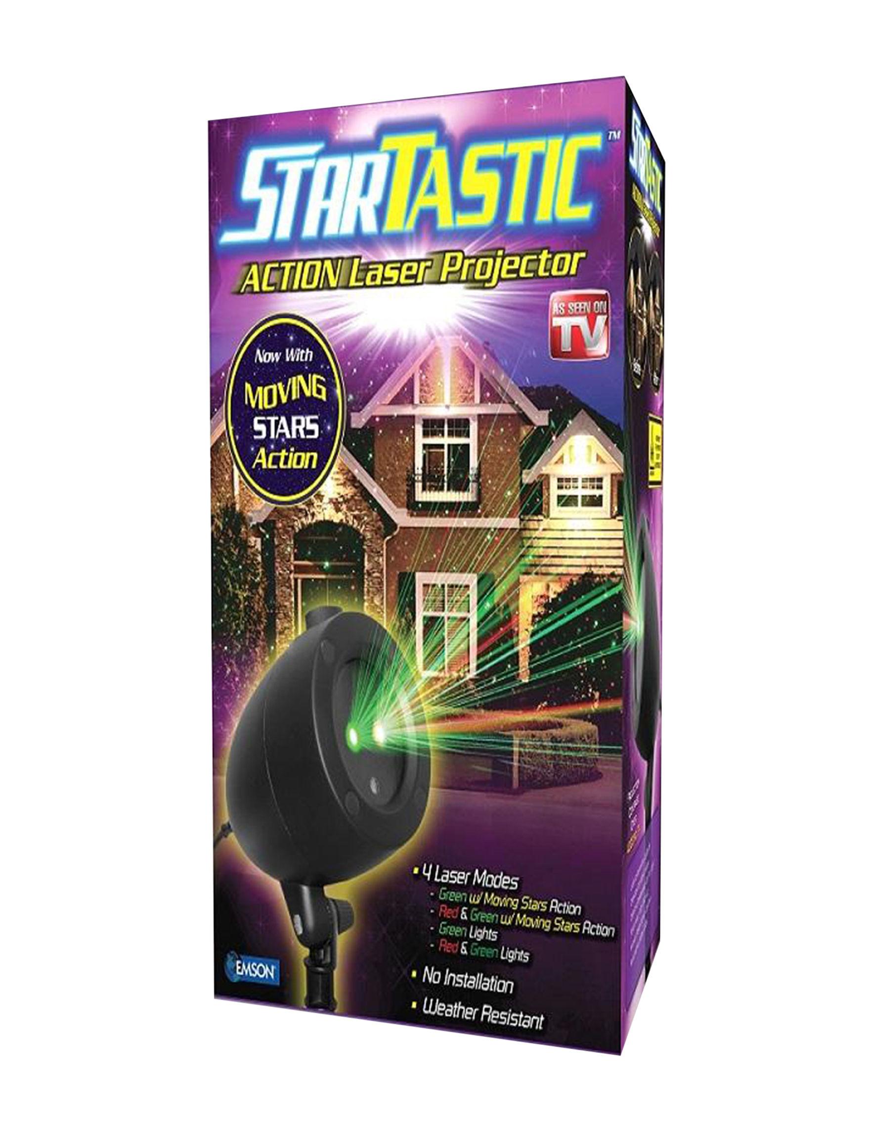 As Seen on TV Black / Multi Lights & Lanterns Outdoor Holiday Decor Holiday Decor Outdoor Decor