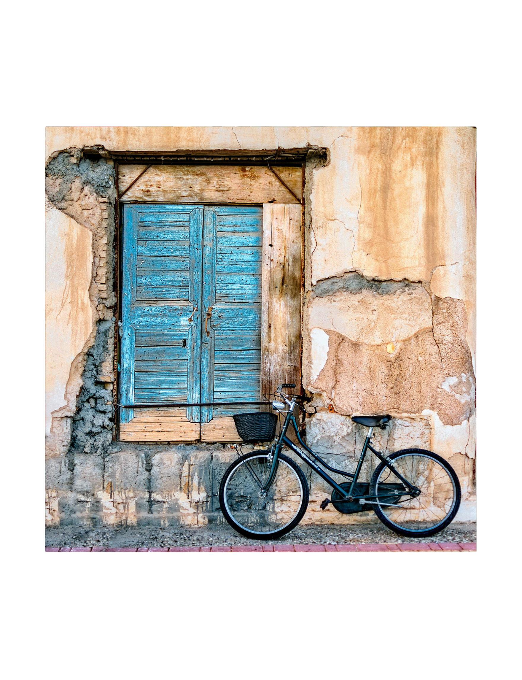 Trademark Fine Art Beige / Blue Wall Art Wall Decor