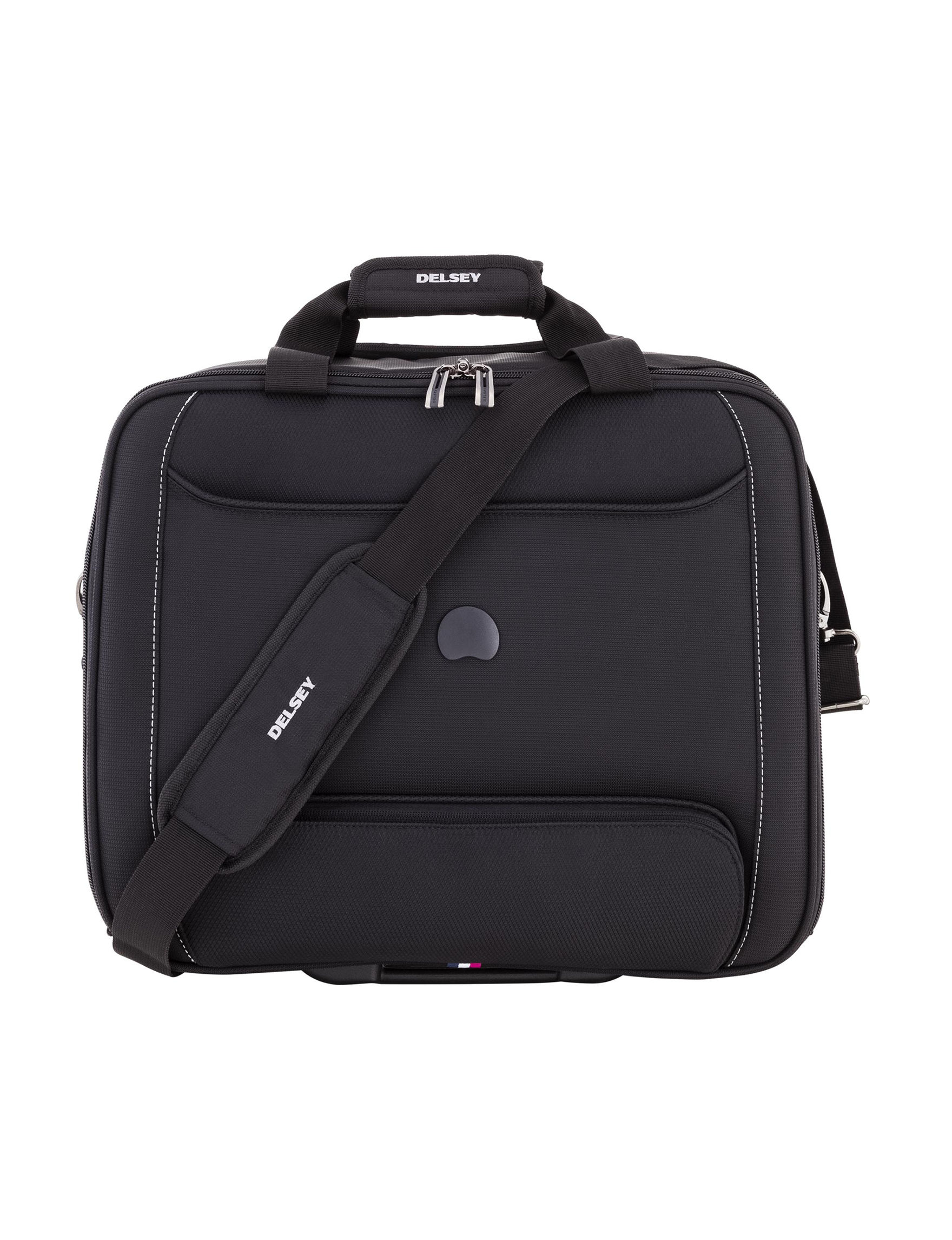 Delsey Black Carry On Luggage