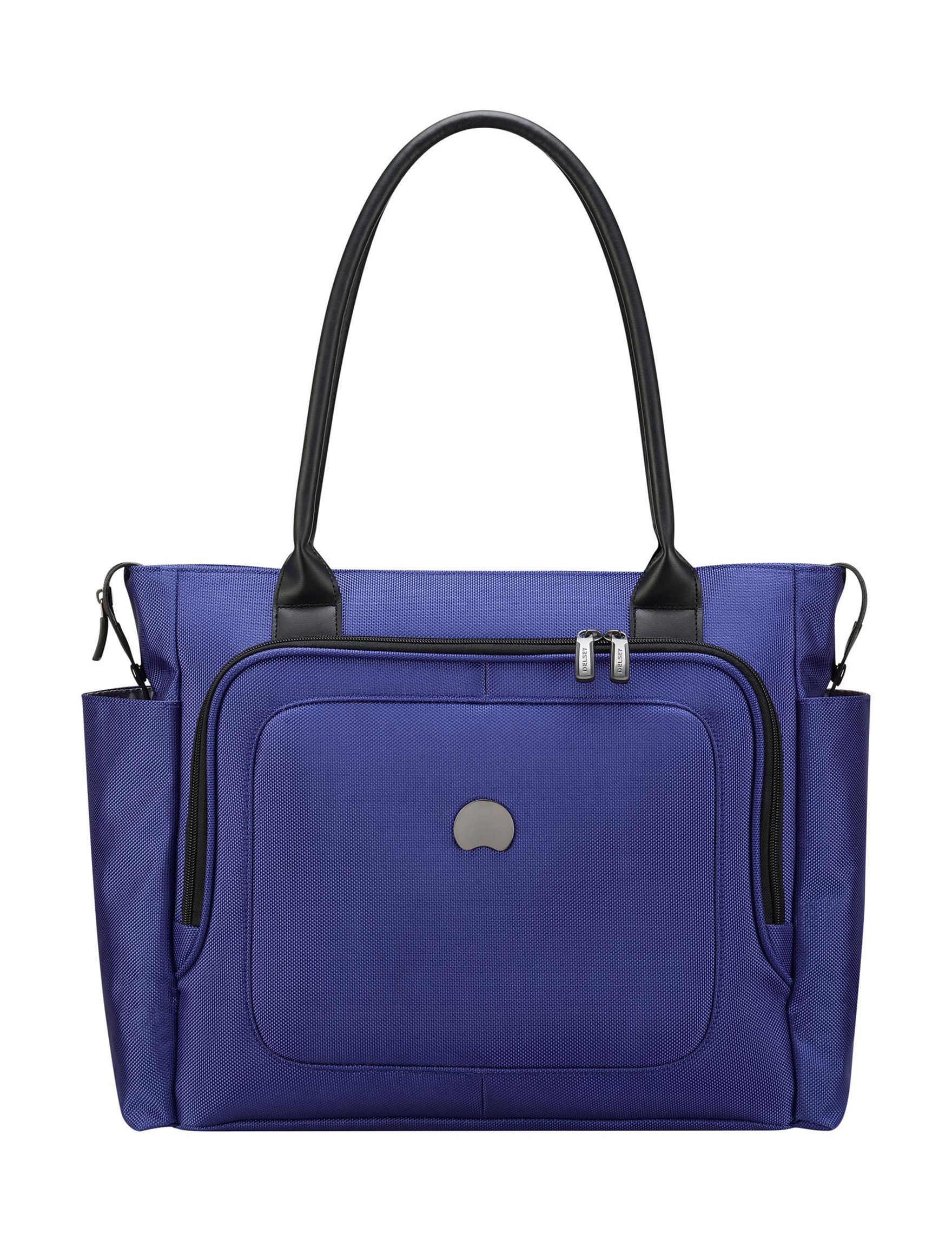 Delsey Blue Travel Totes