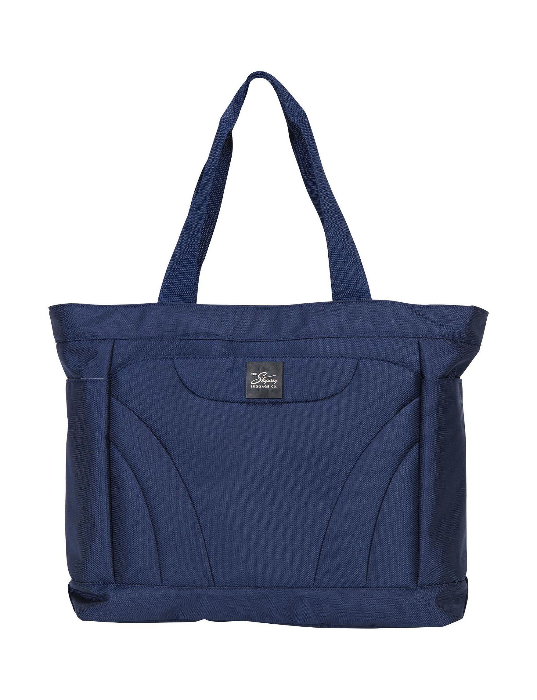Skyway Blue Softside Carry On Luggage