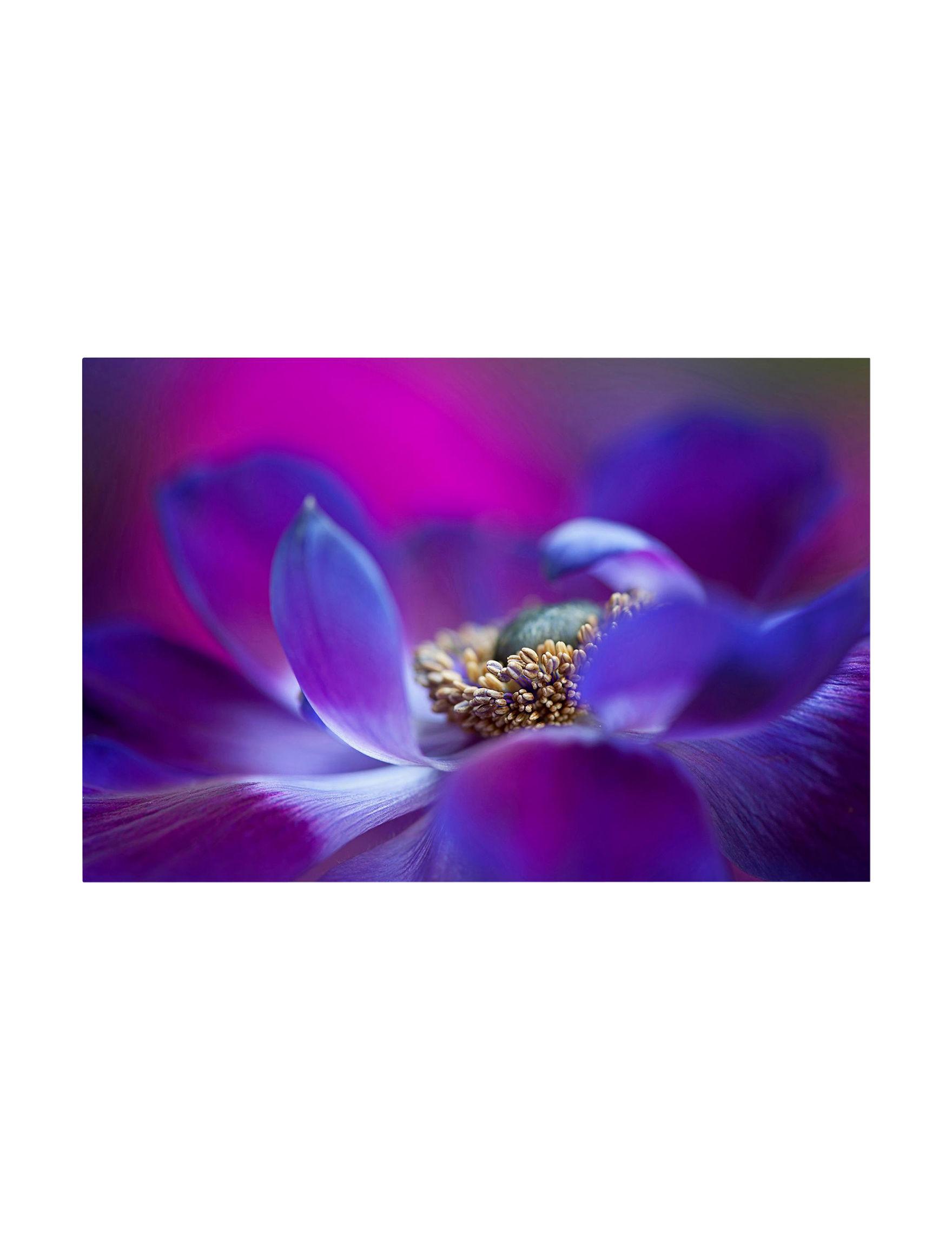Trademark Fine Art Purple / Pink Wall Art Home Accents Wall Decor