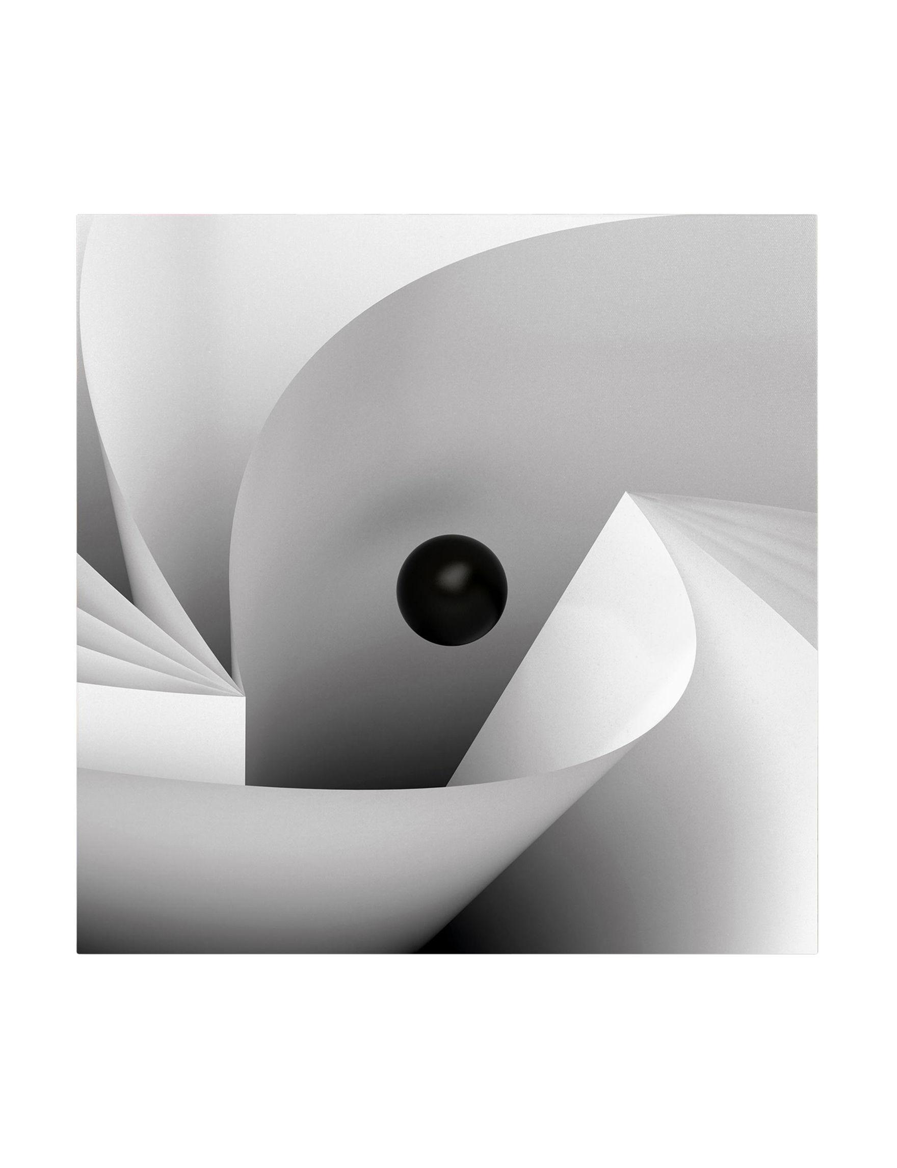 Trademark Fine Art White / Black Wall Art Home Accents Wall Decor
