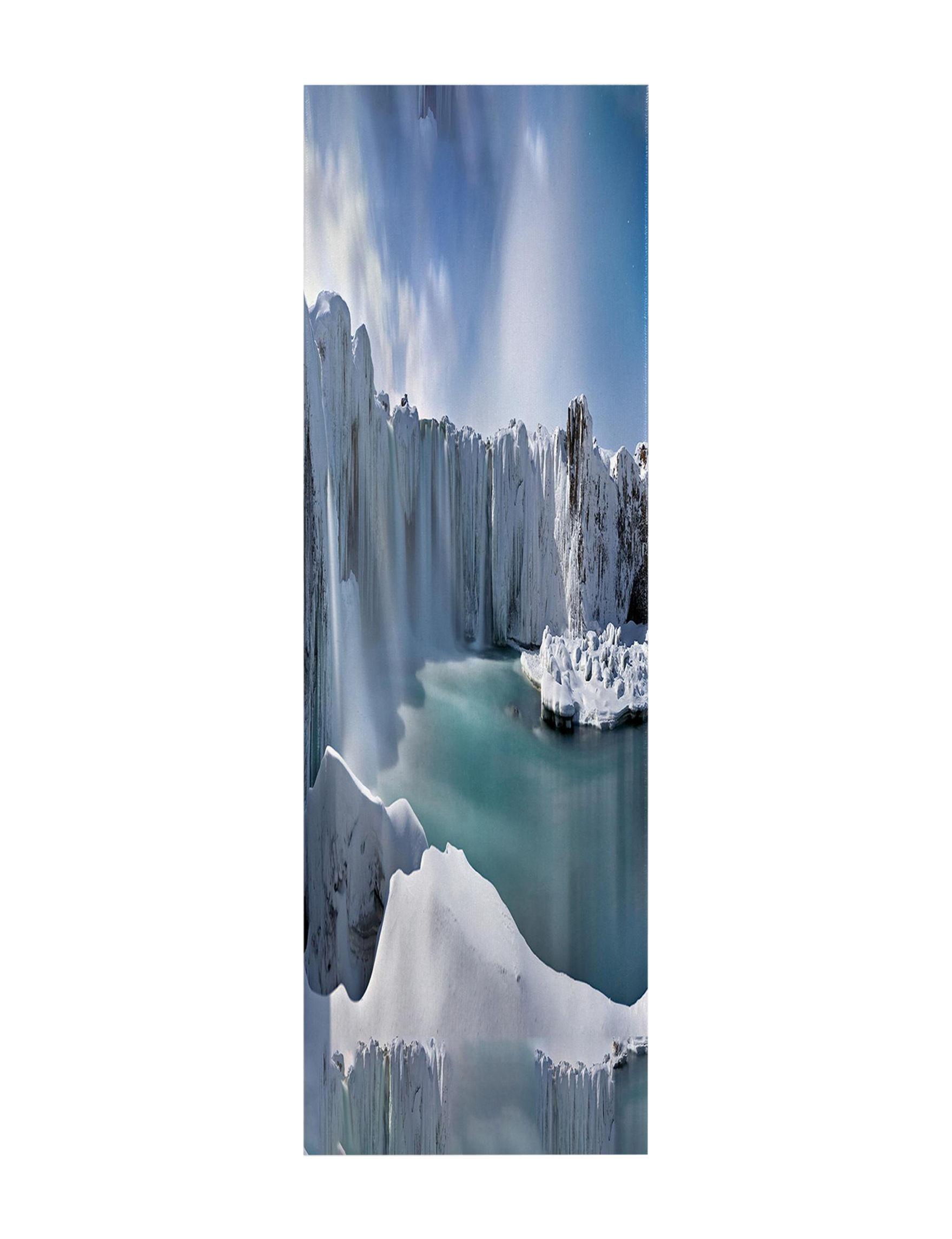 Trademark Fine Art Blue / Grey Wall Art Home Accents Wall Decor