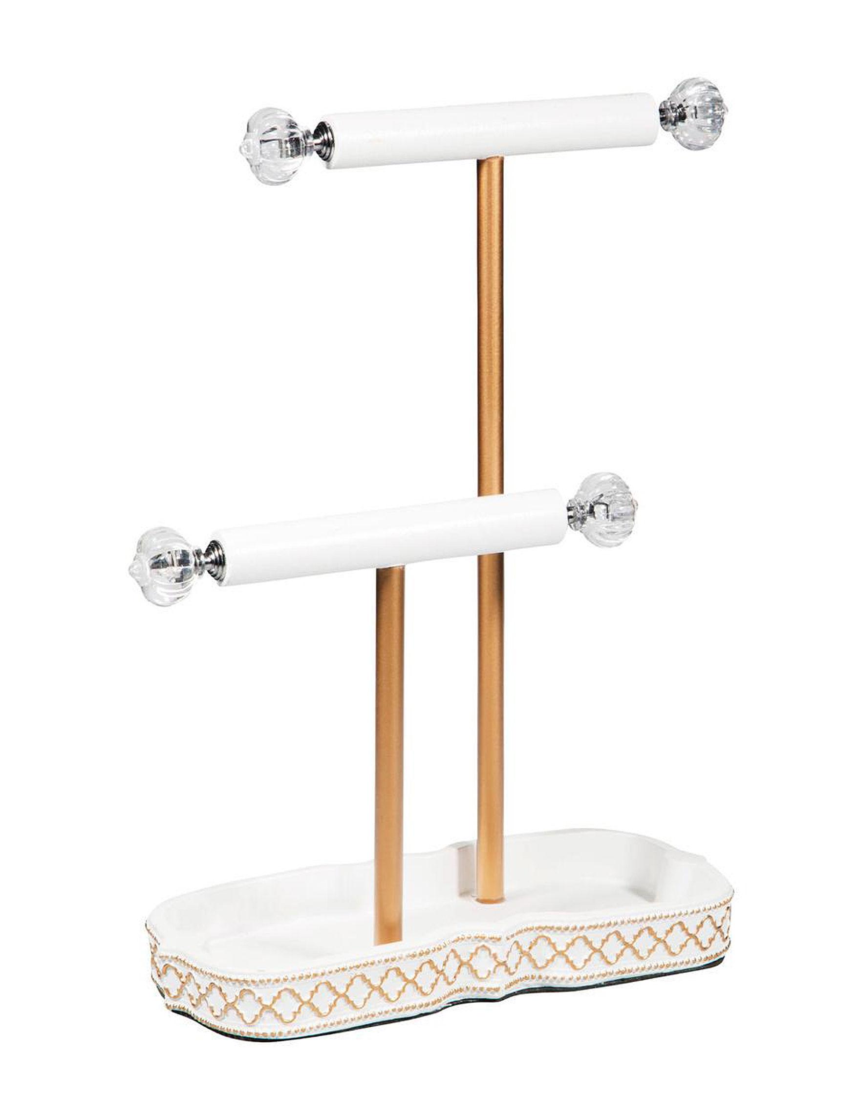 Home Essentials White Jewelry Storage & Organization