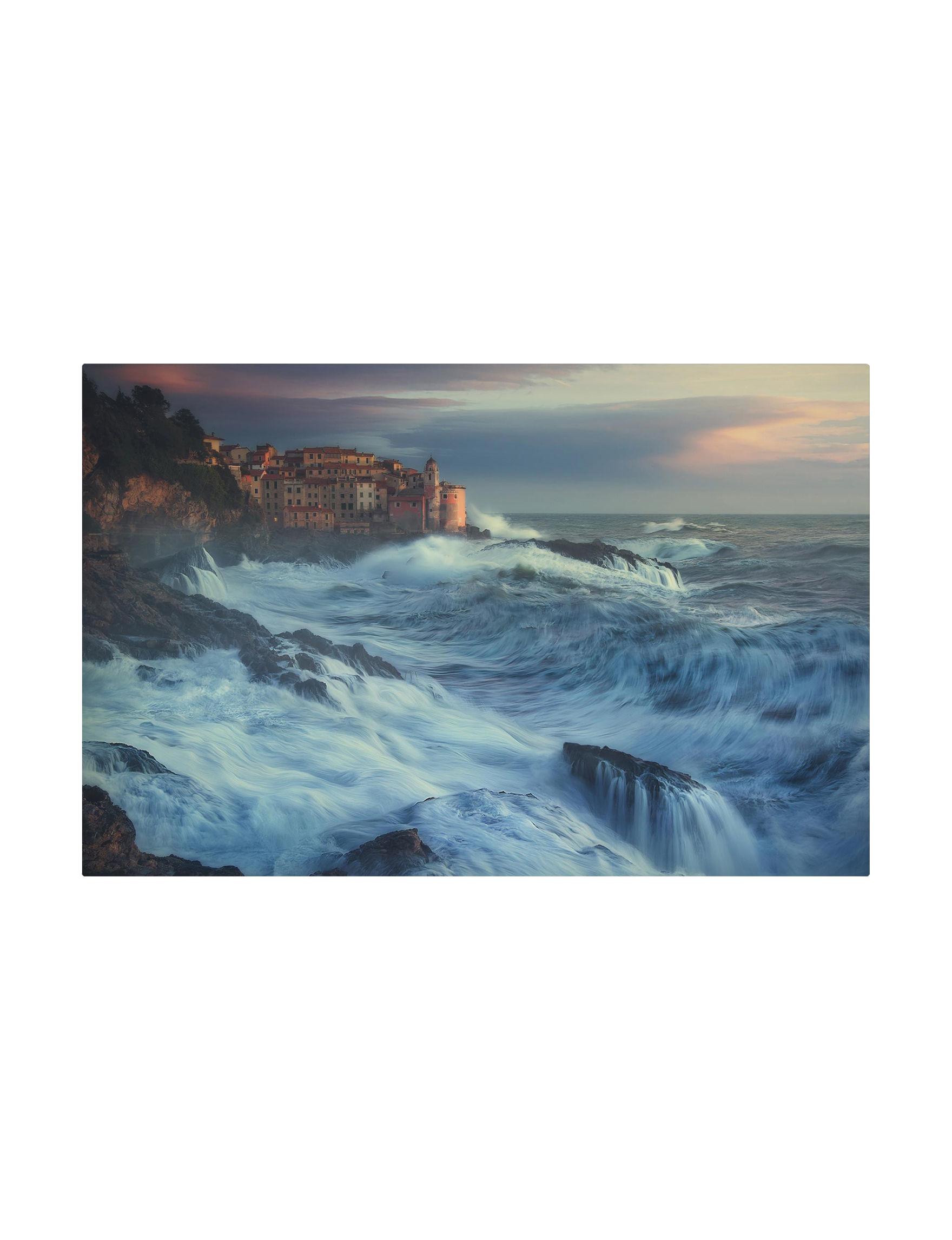 Trademark Fine Art Brown / Blue Wall Art Home Accents Wall Decor
