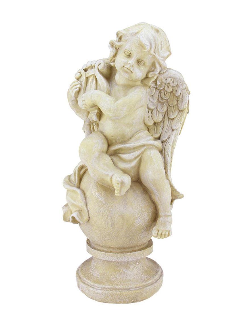 Northlight Ivory Decorative Objects Garden Decor & Planters Outdoor Decor