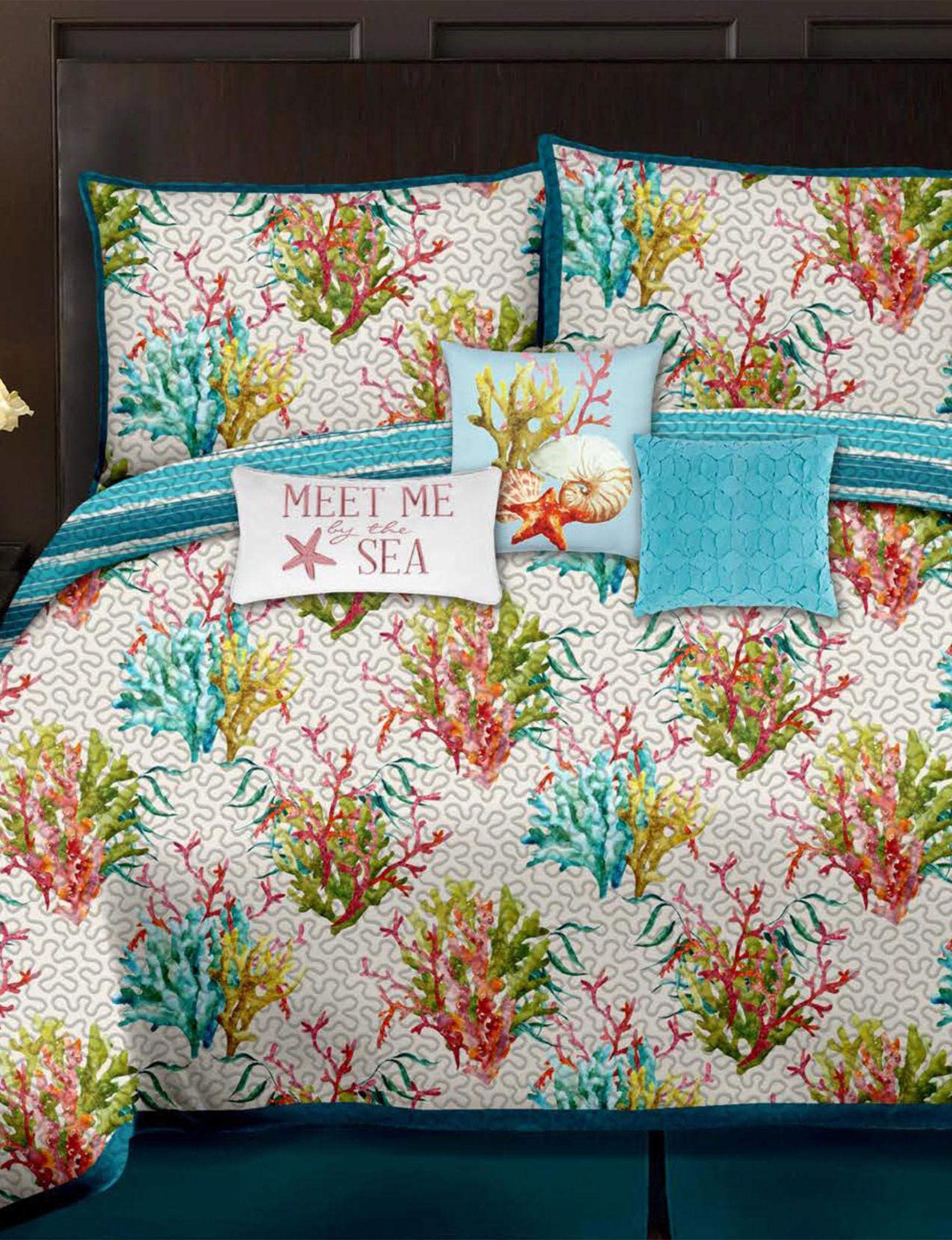 Casa Blue Multi Quilts & Quilt Sets