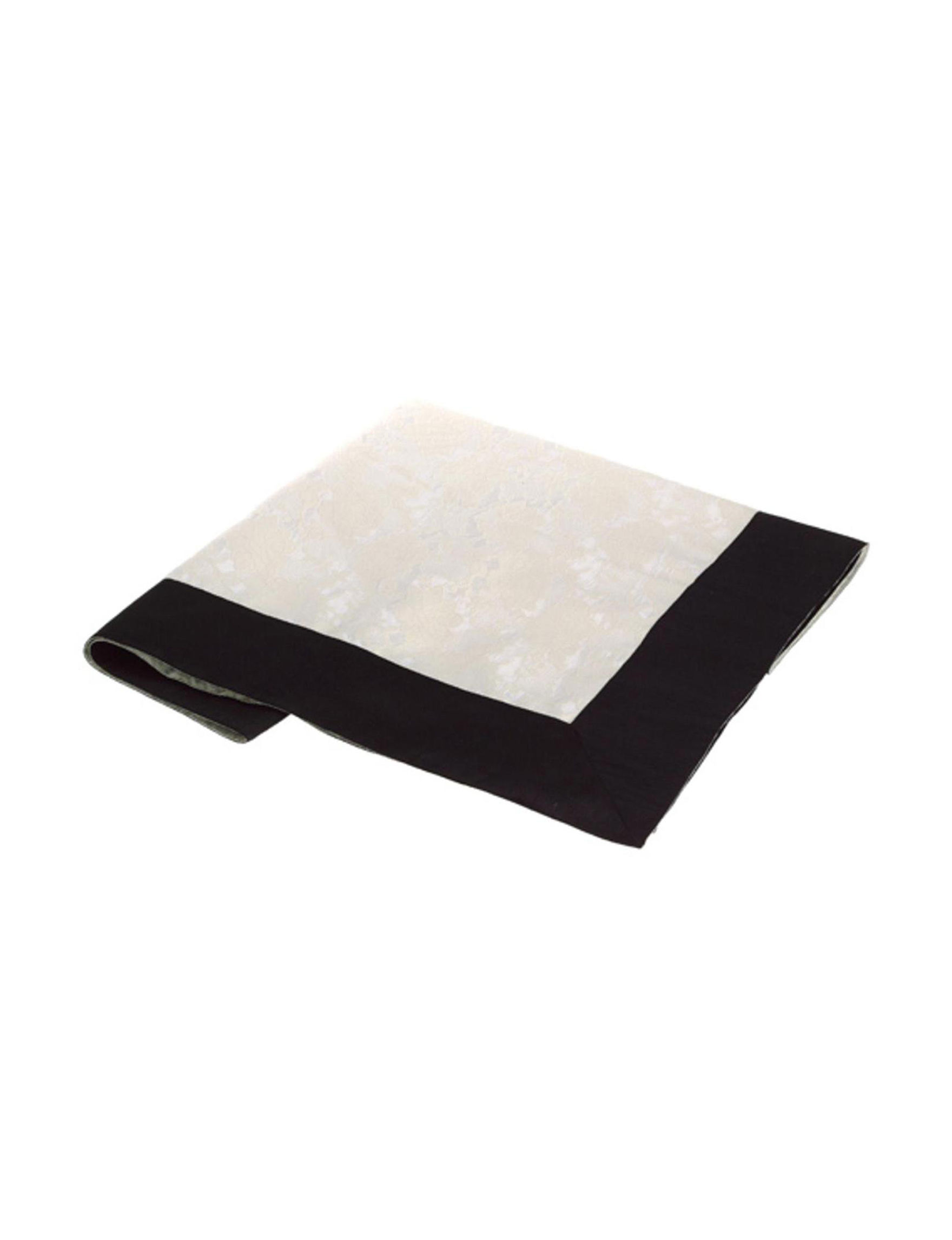 Allstate White / Black Tablecloths Home Accents