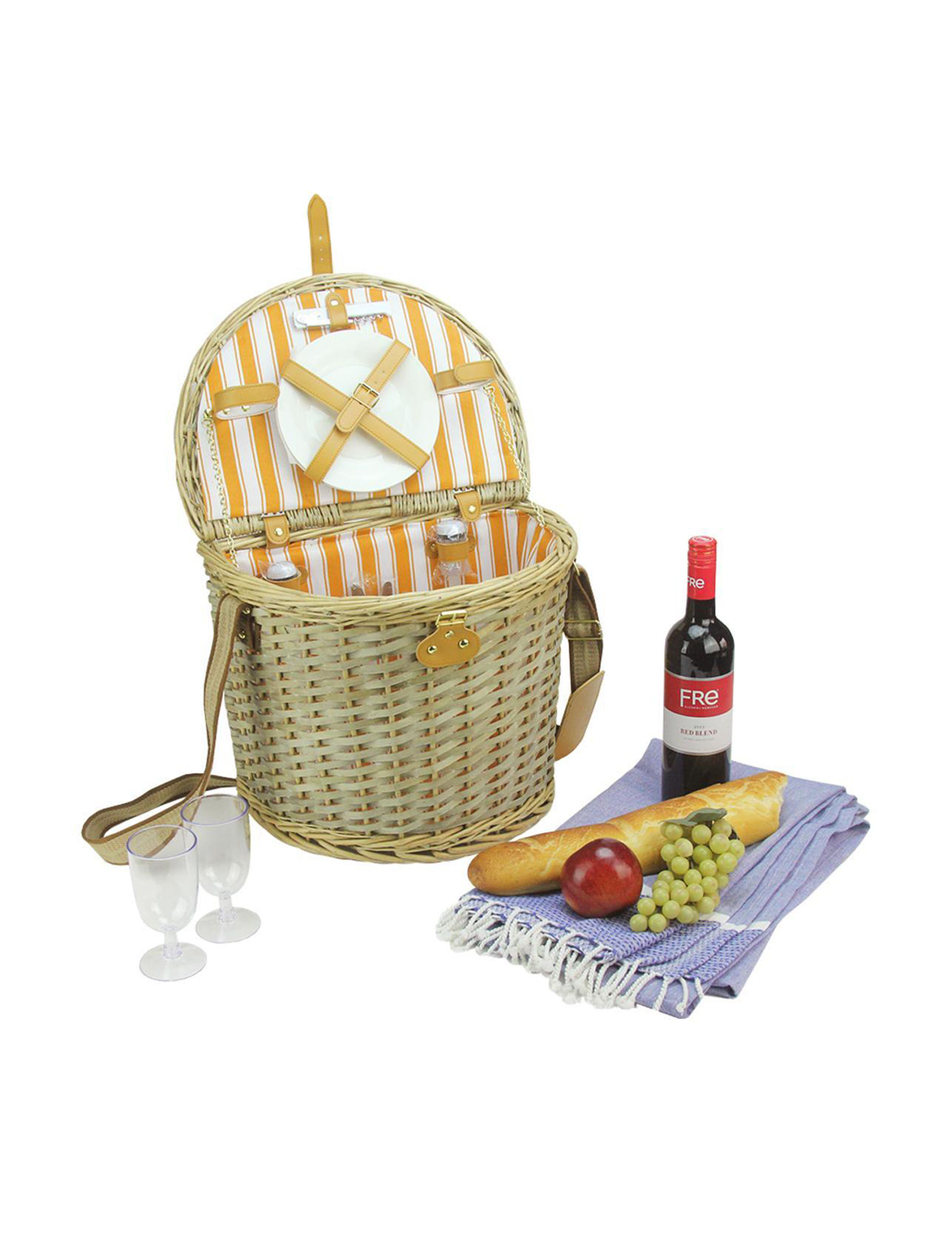 Northlight Brown Multi Baskets Outdoor Entertaining