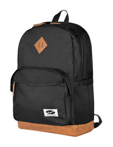Olympia Black Softside Bookbags Backpacks Carry On Luggage Weekend Bags