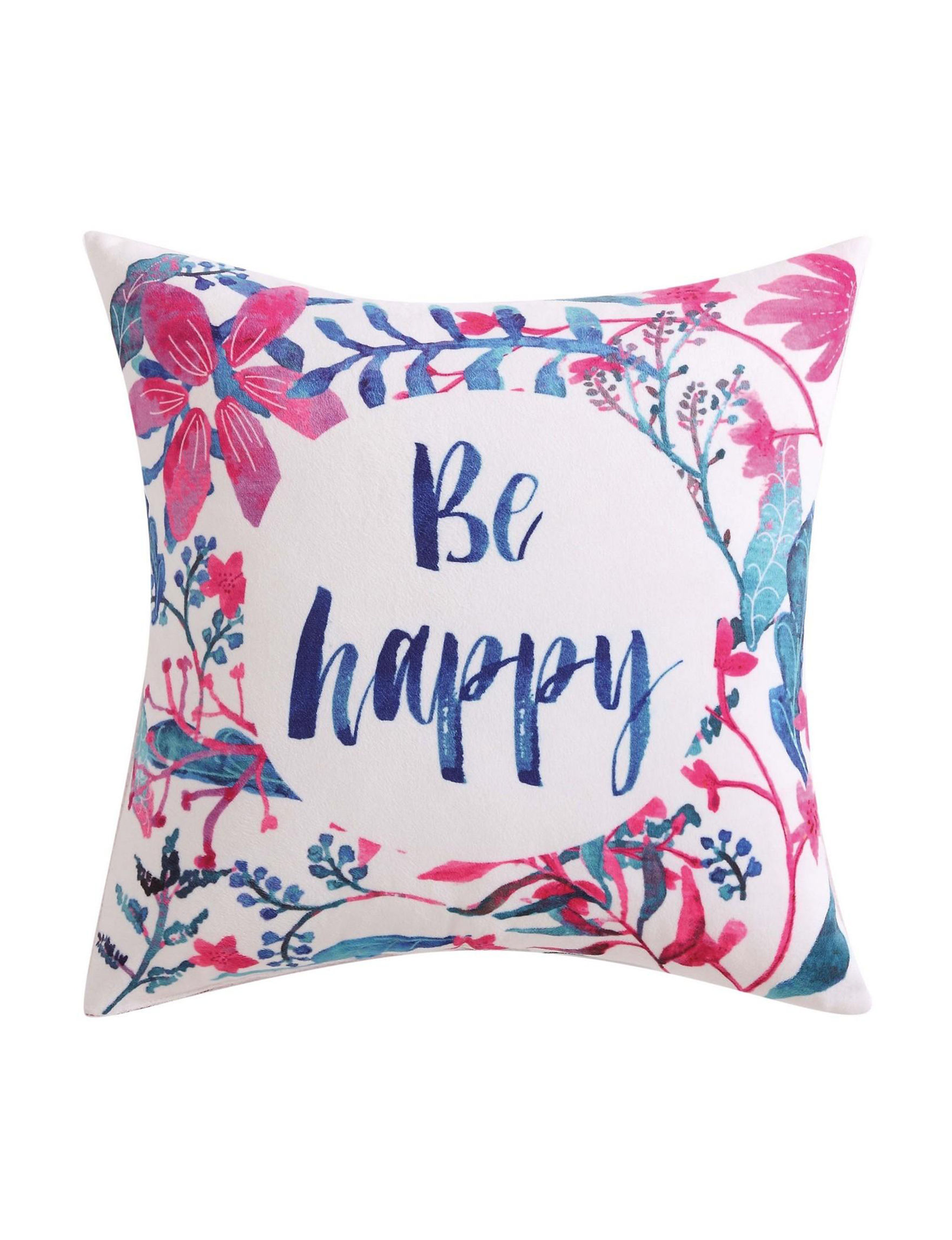 Oliver Gal Red / White / Blue Decorative Pillows