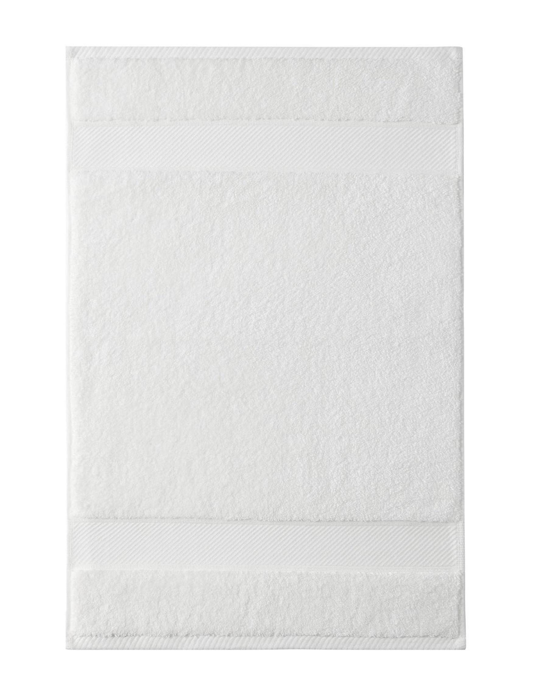 Charisma White Bath Towels Hand Towels Towels