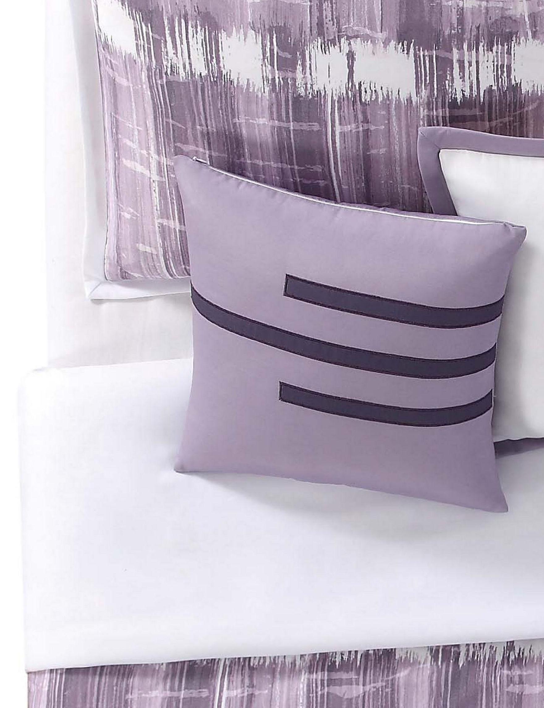 Vince Camuto Purple Decorative Pillows
