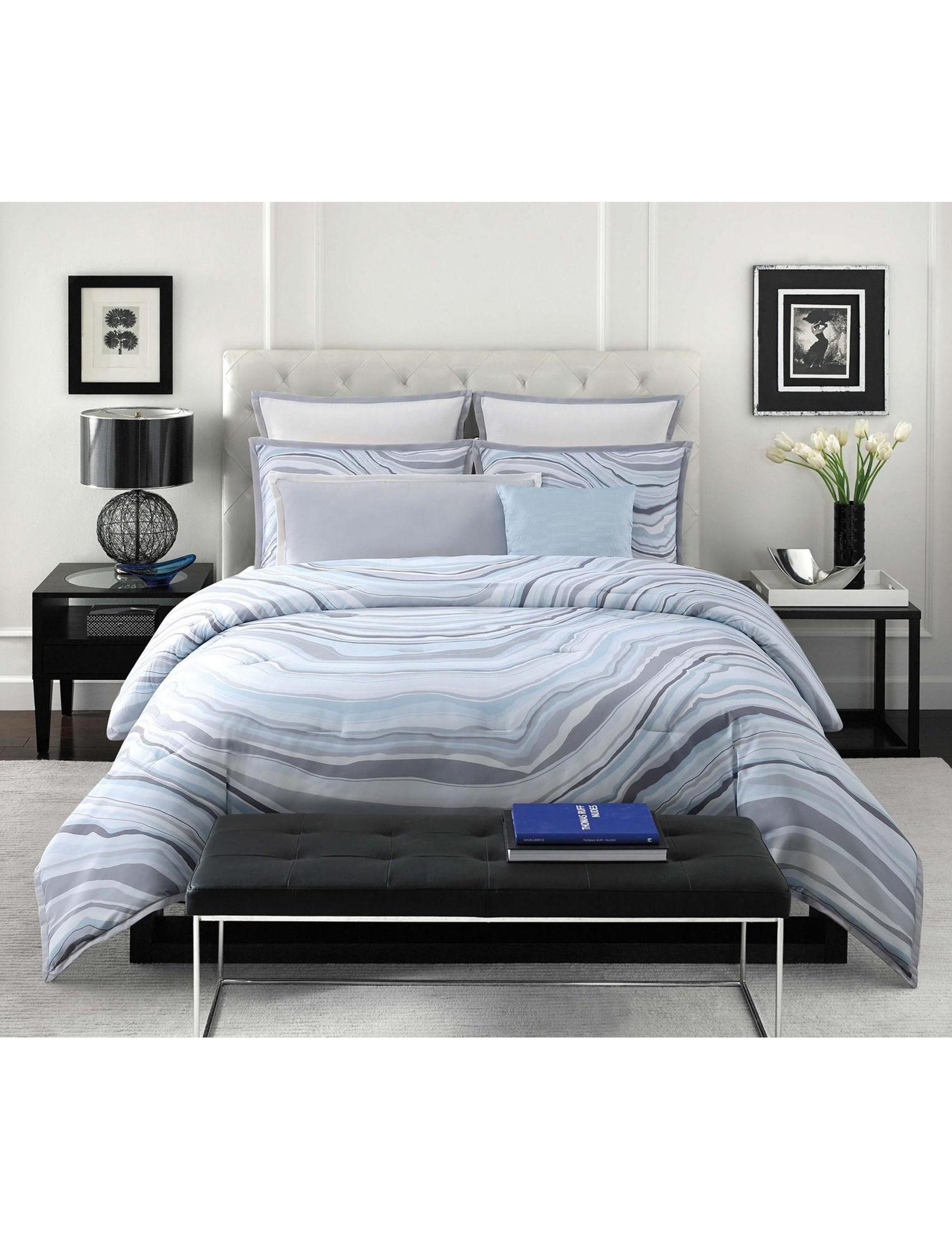 Vince Camuto Blue Comforters & Comforter Sets