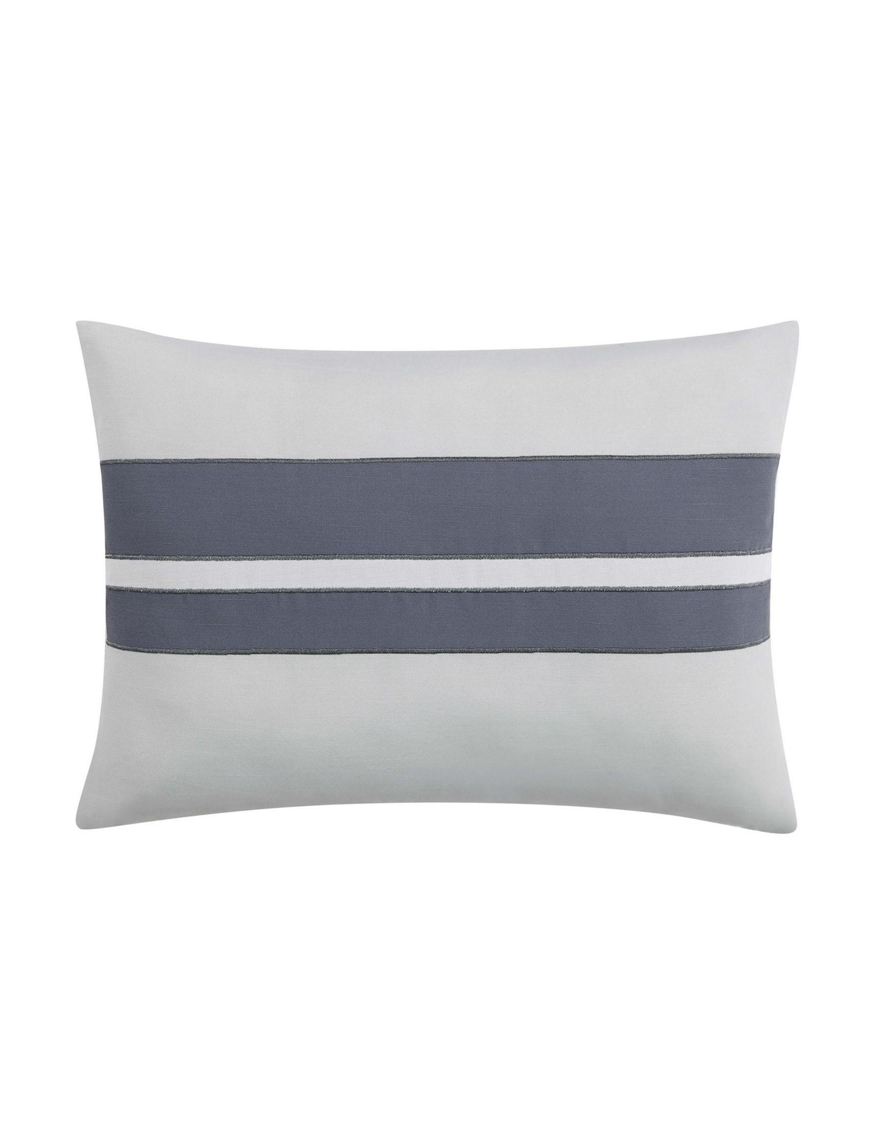 Vince Camuto Yellow/ Grey Decorative Pillows