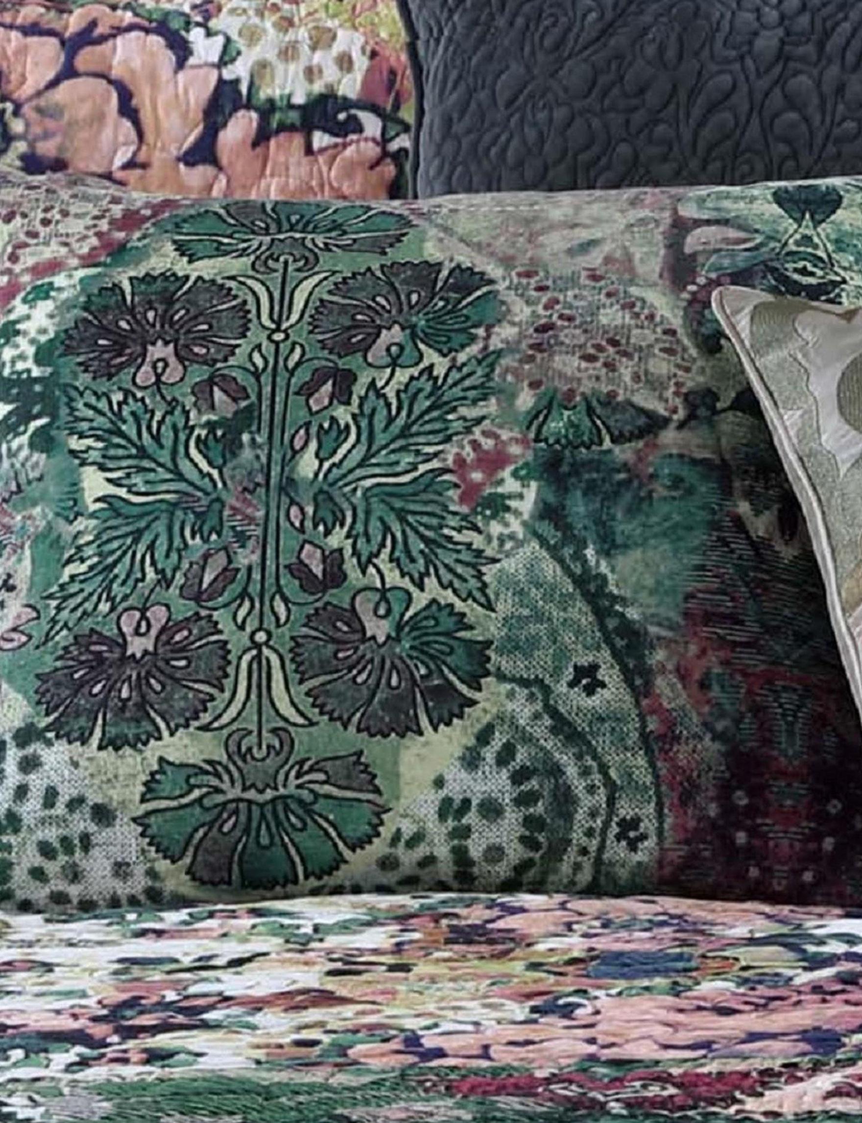 Tracy Porter Green Multi Decorative Pillows