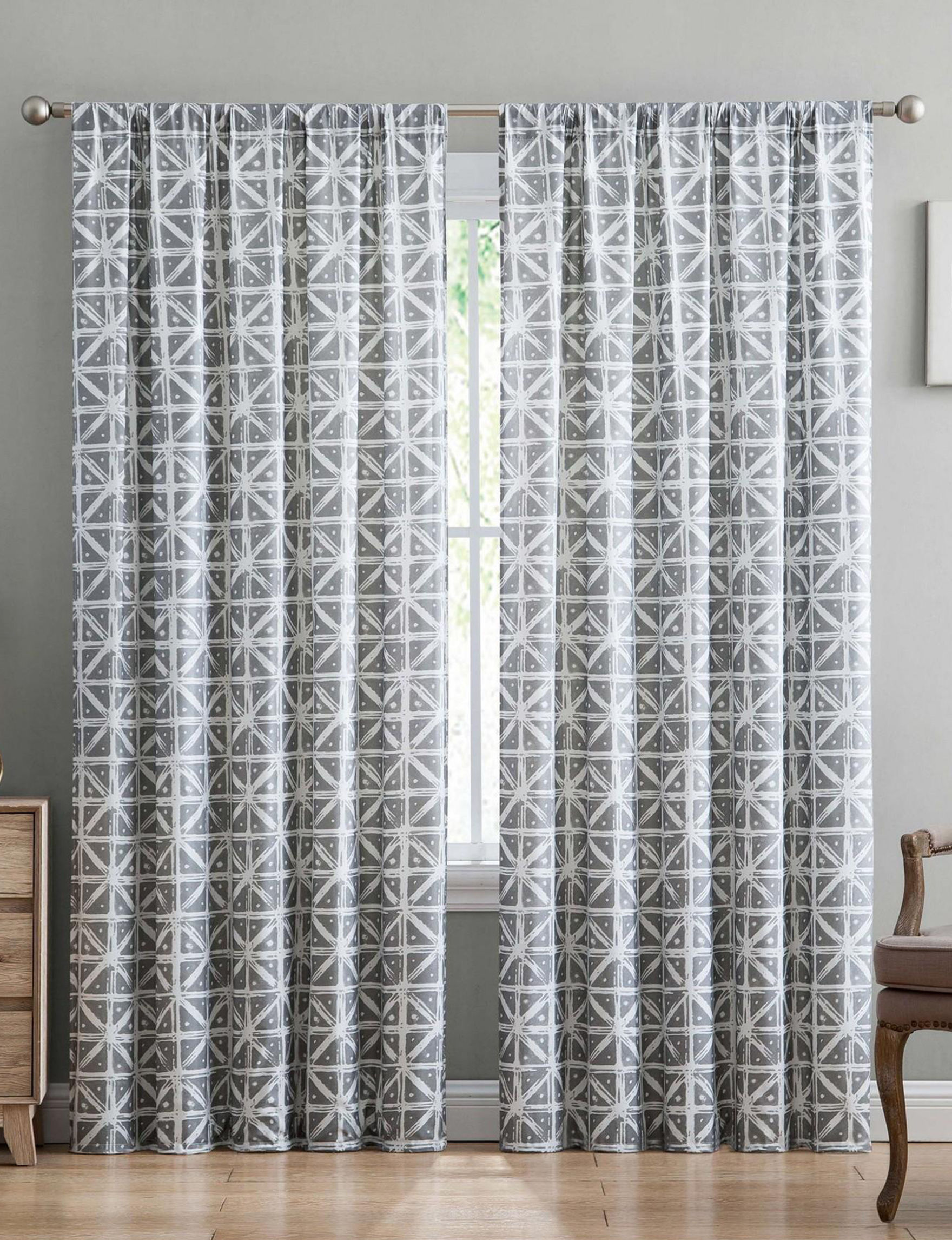 Truly Soft Grey Curtains & Drapes Window Treatments