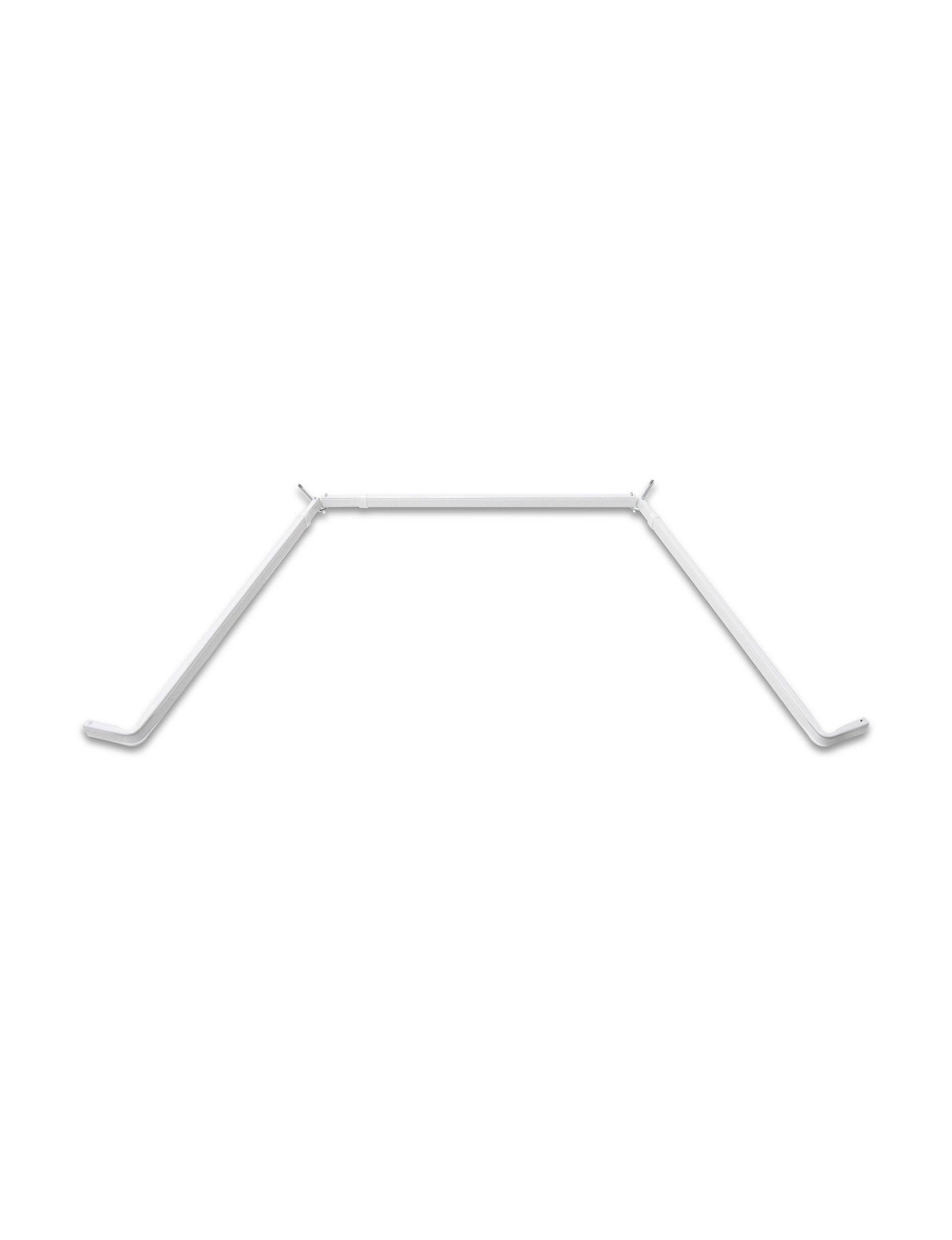 Rod Desyne White Curtain Rods & Hardware Window Treatments
