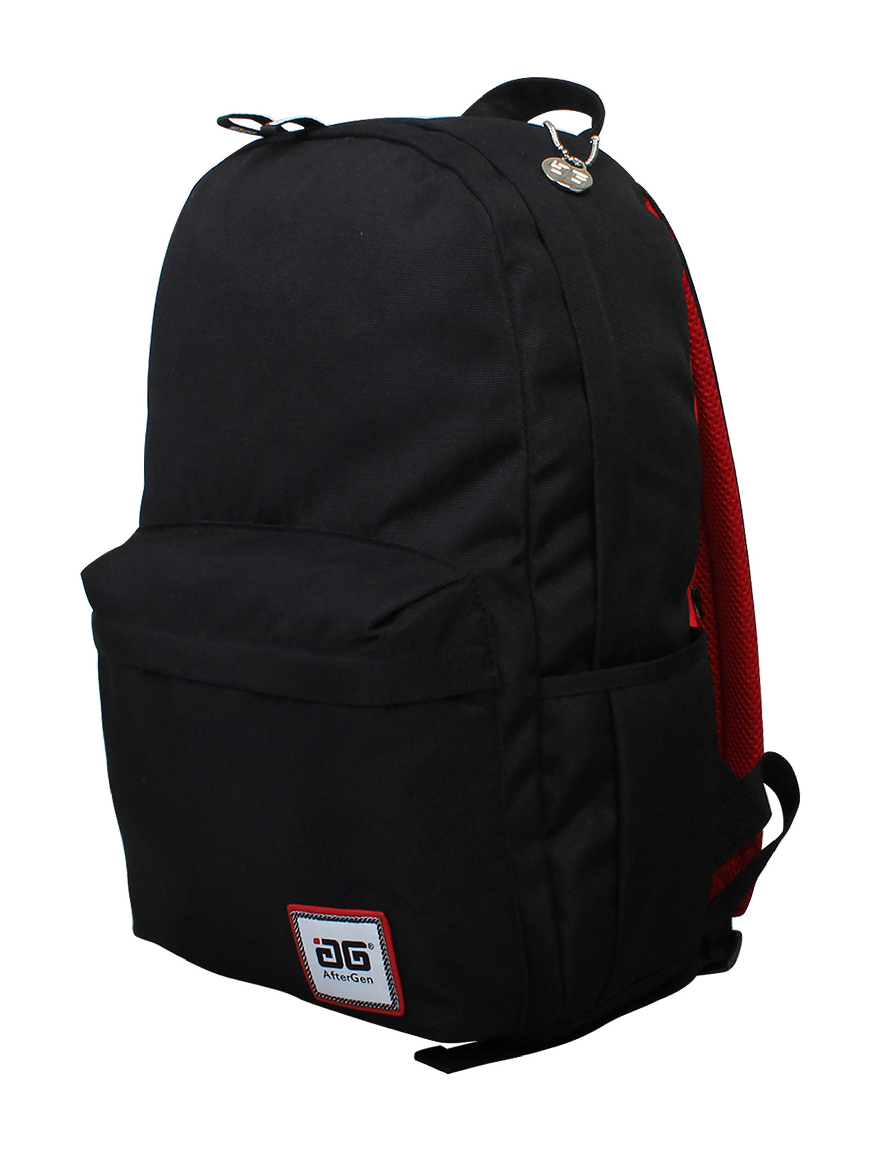 Aftergen Black / Red Bookbags & Backpacks