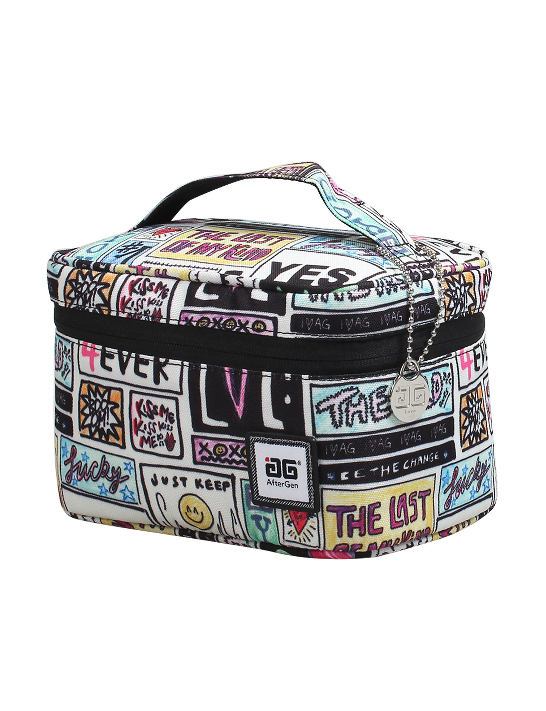 Aftergen White / Black Lunch Boxes & Bags Travel Accessories