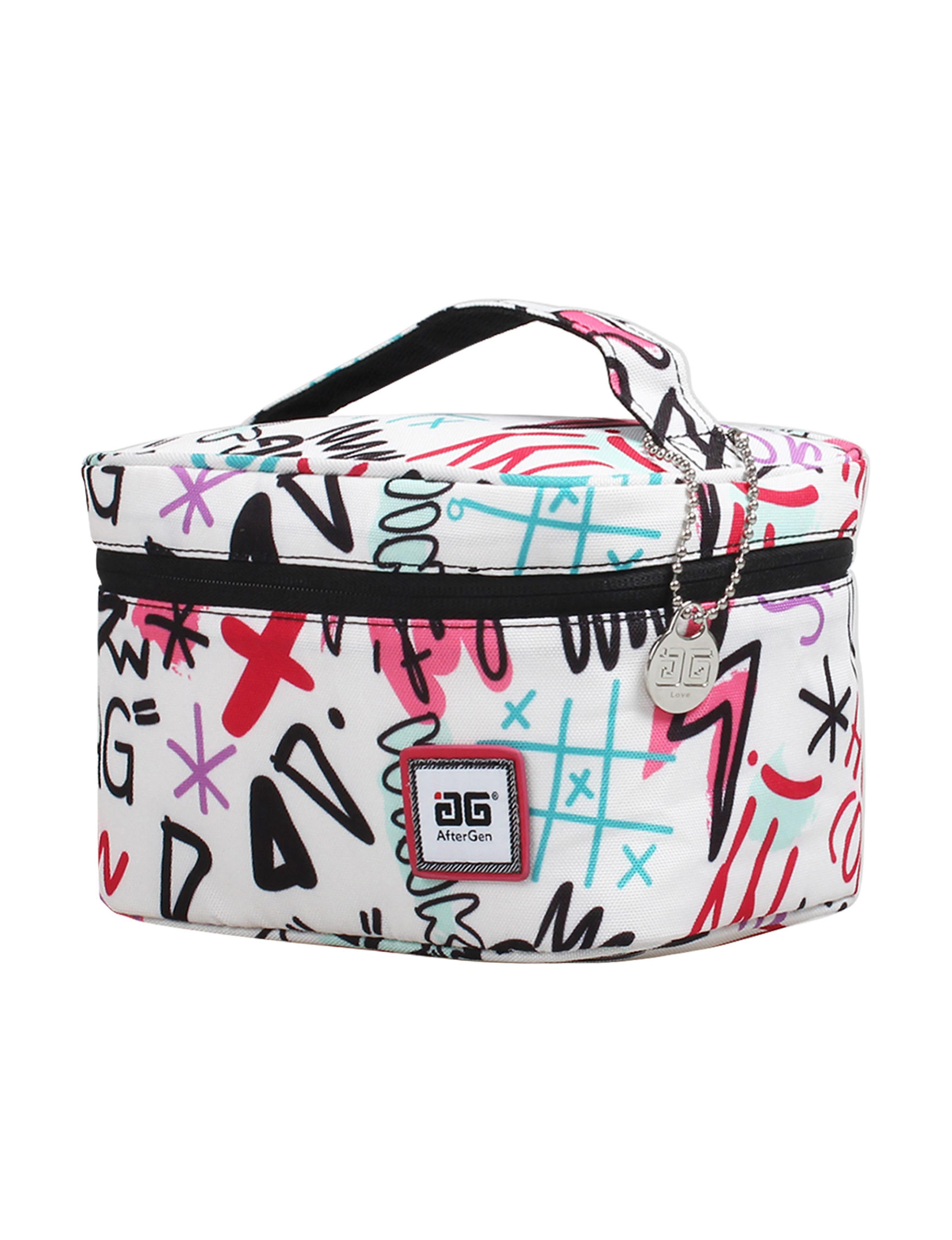 Aftergen White / Multi Lunch Boxes & Bags Travel Accessories