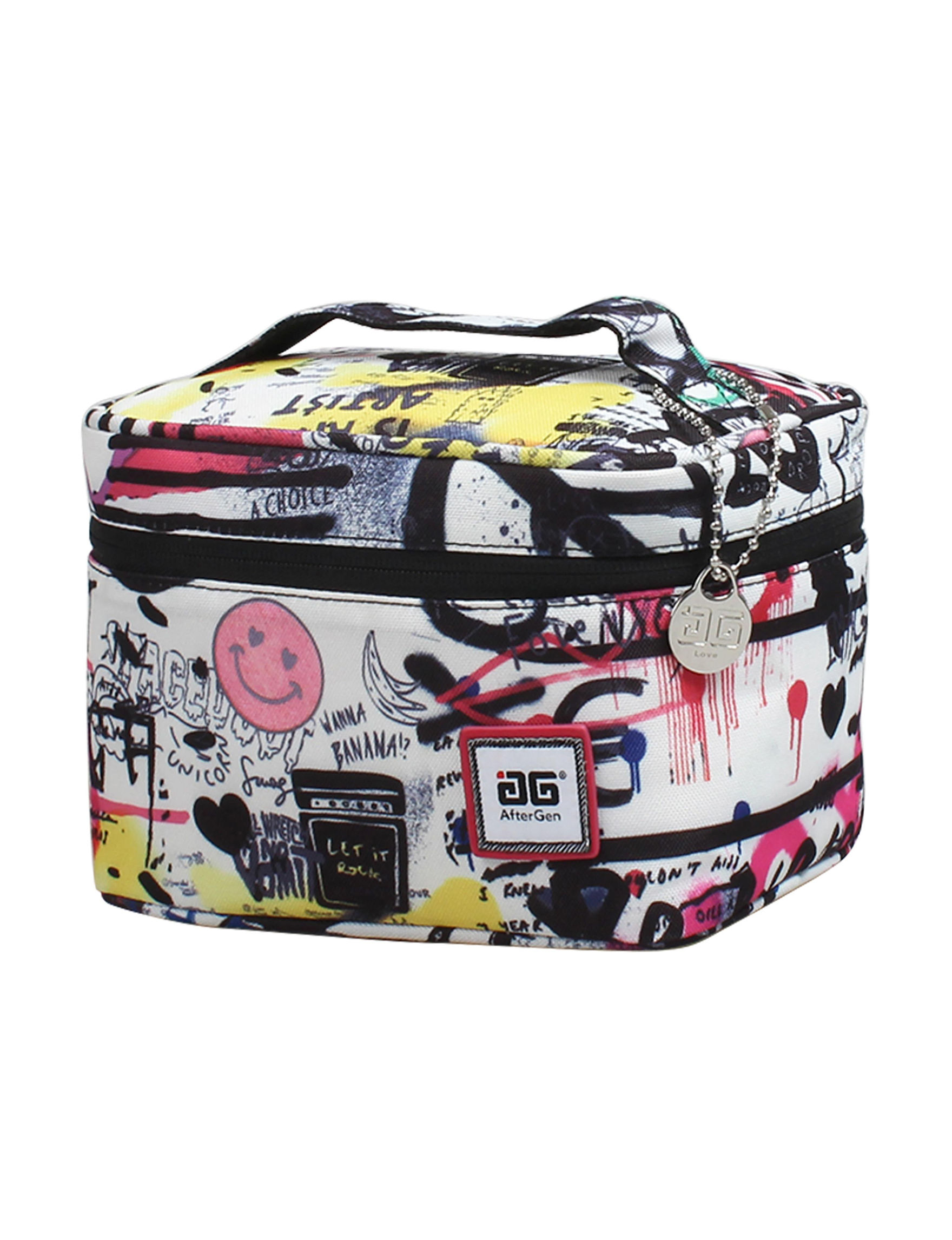 Aftergen Pink / White / Black Lunch Boxes & Bags Travel Accessories