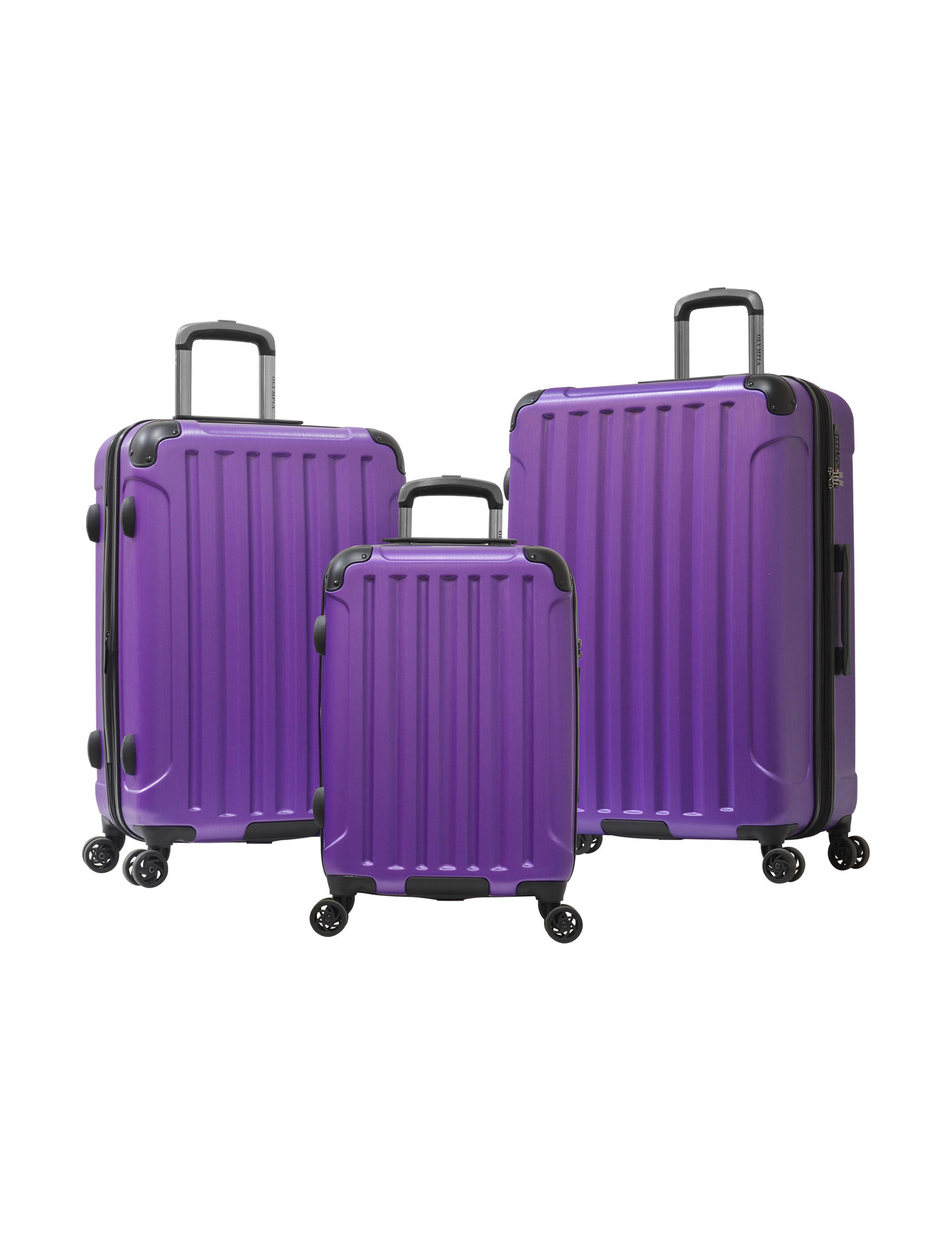 Olympia USA Purple Luggage Sets