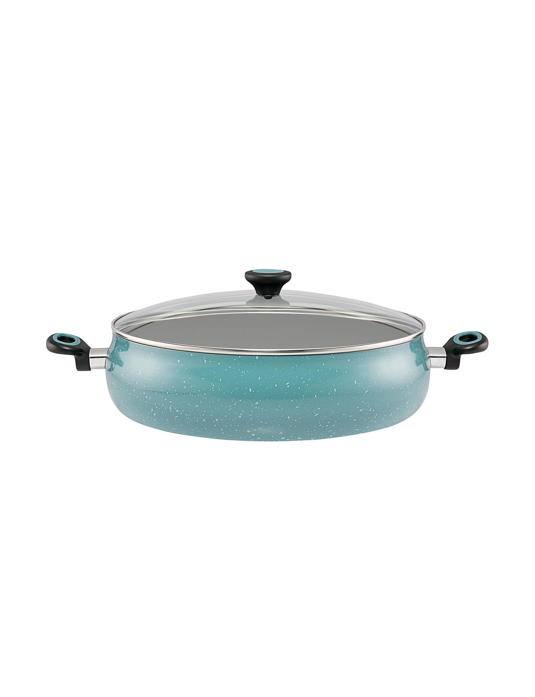 Paula Deen Turquoise Frying Pans & Skillets Cookware