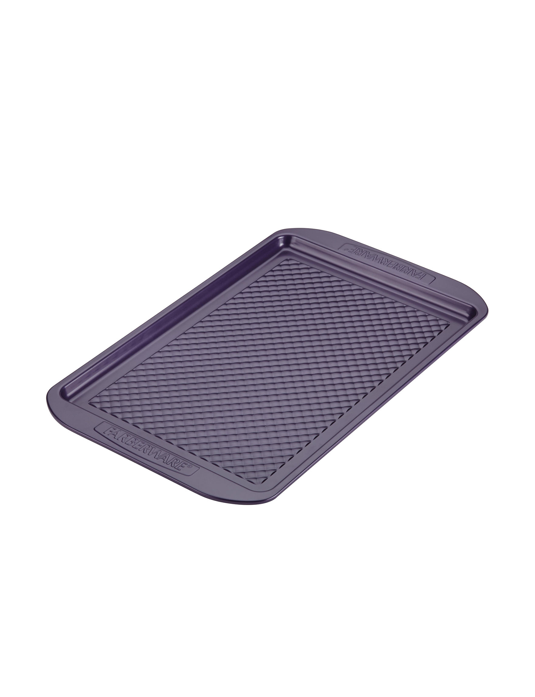 Farberware Purple Cookie Sheets Bakeware Kitchen Appliances