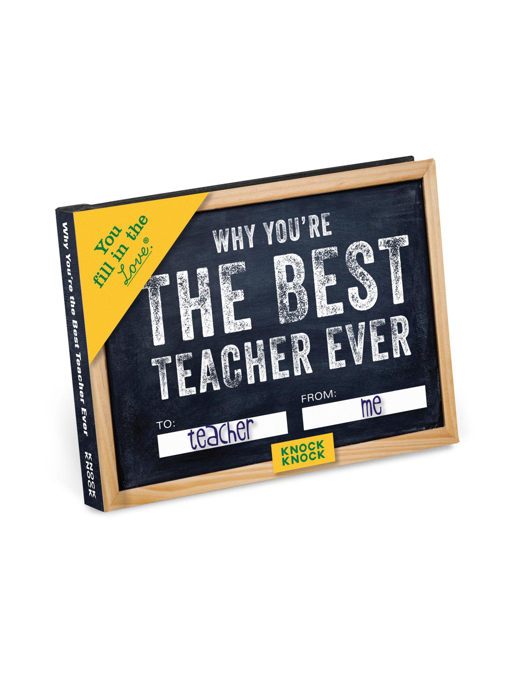 Knock Knock Black Calendars & Planners School & Office Supplies