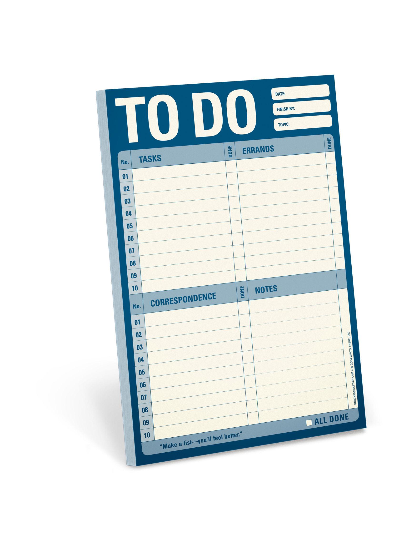 Knock Knock  Calendars & Planners Journals & Notepads School & Office Supplies