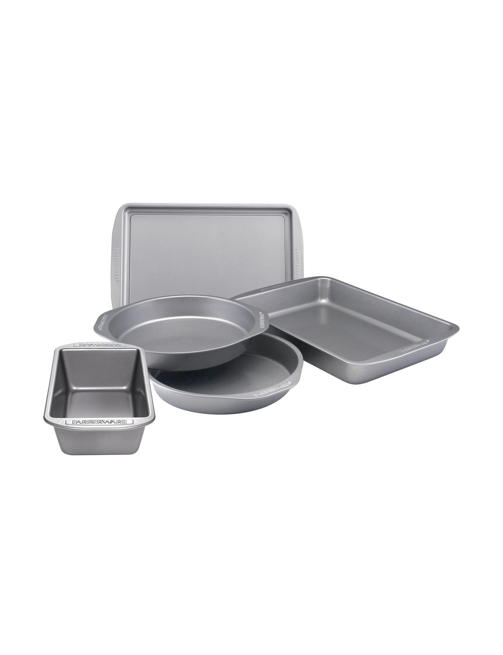 Farberware Grey Bakeware Sets Bakeware