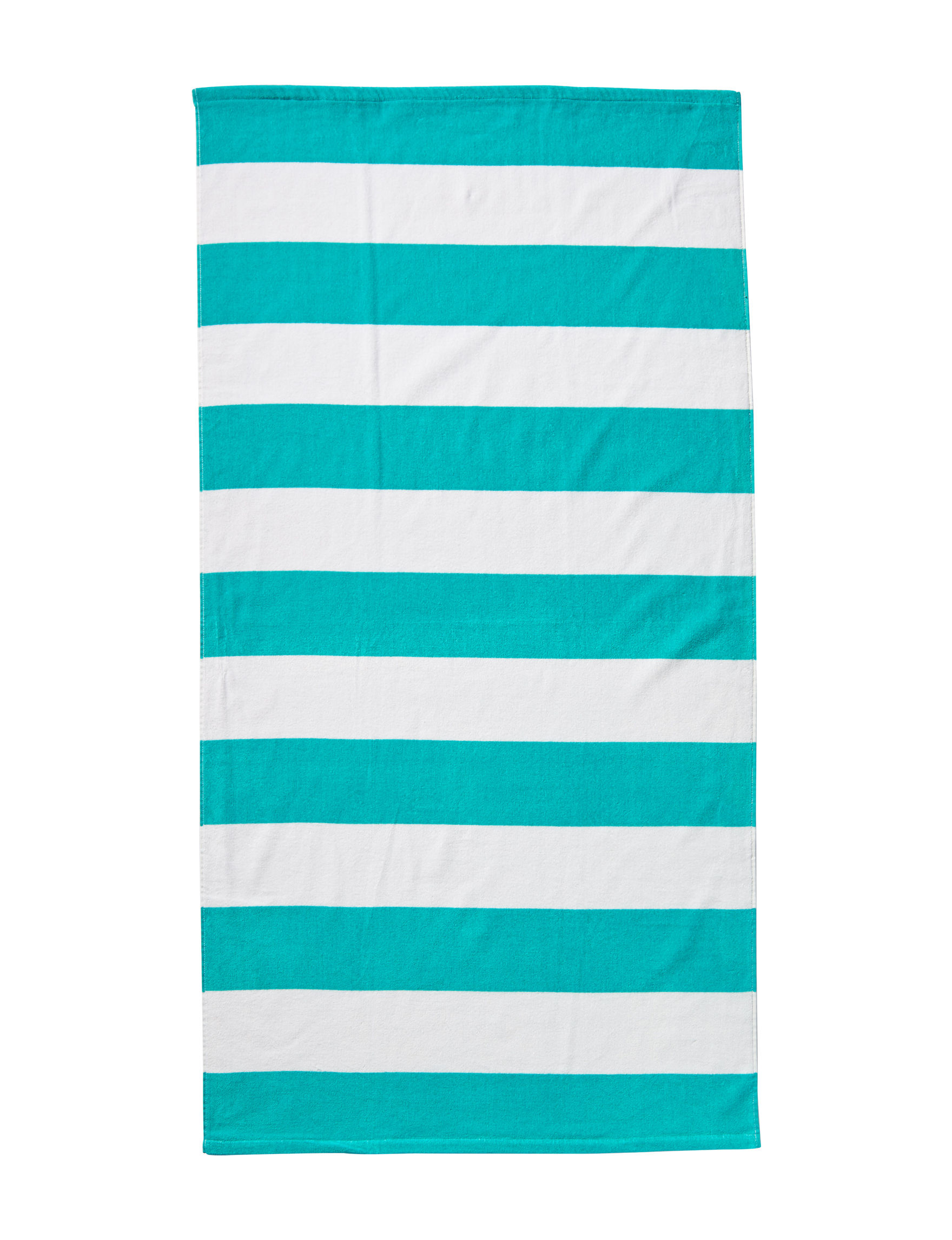 Peri Blue / White Beach Towels Towels