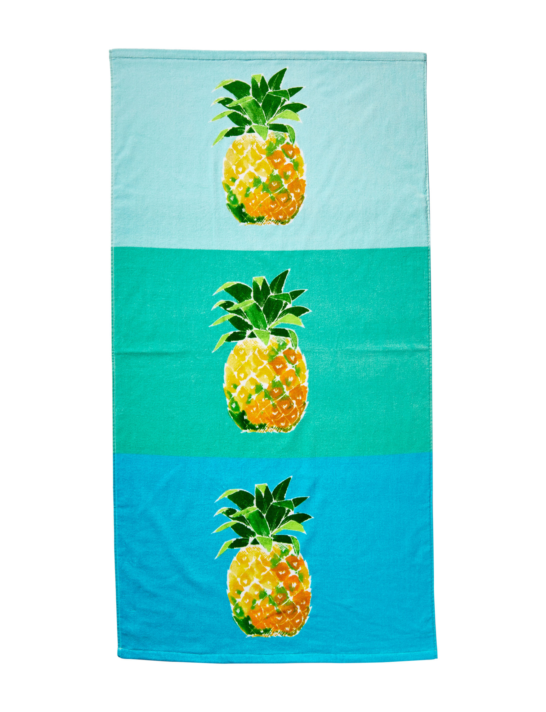 Peri Blue Multi Beach Towels Towels