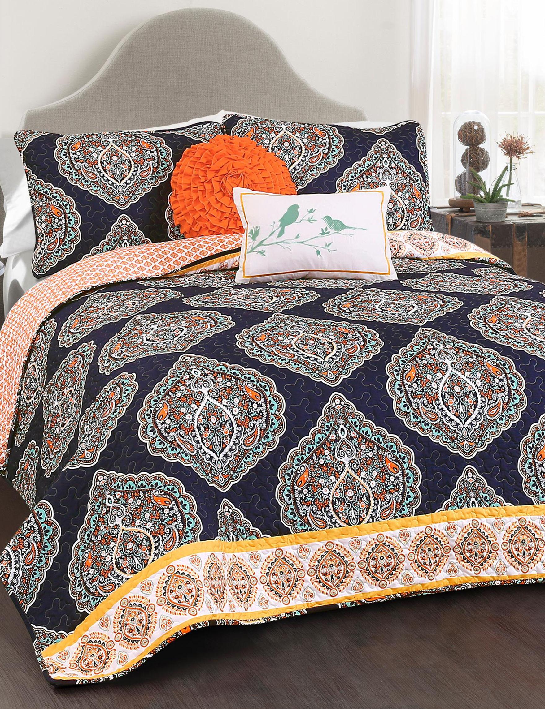 Lush Decor Navy Quilts & Quilt Sets